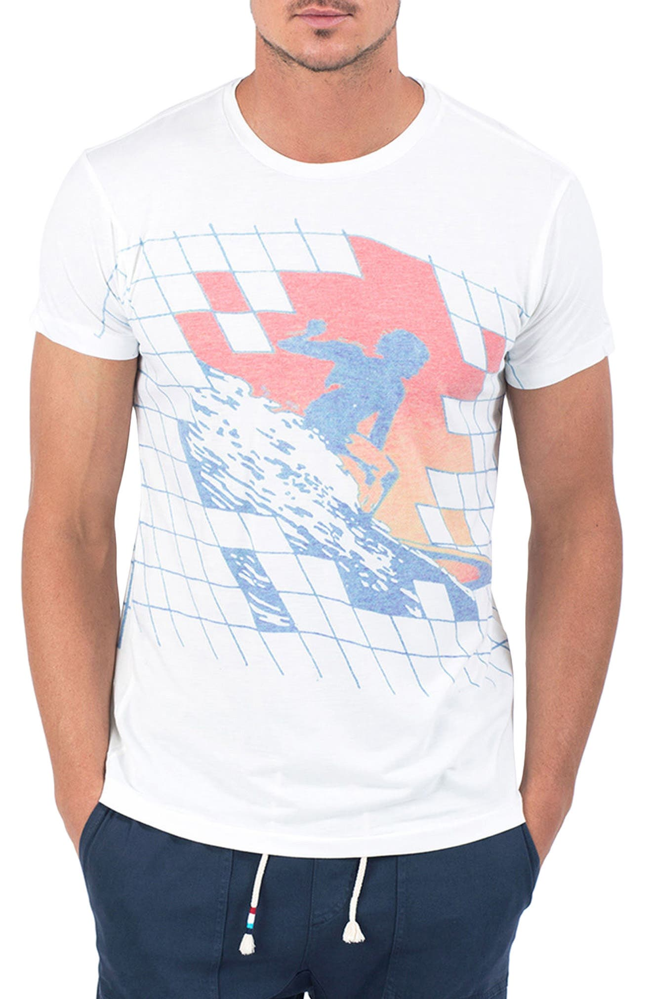 Gridlock T-Shirt,                             Main thumbnail 1, color,                             Gridlock