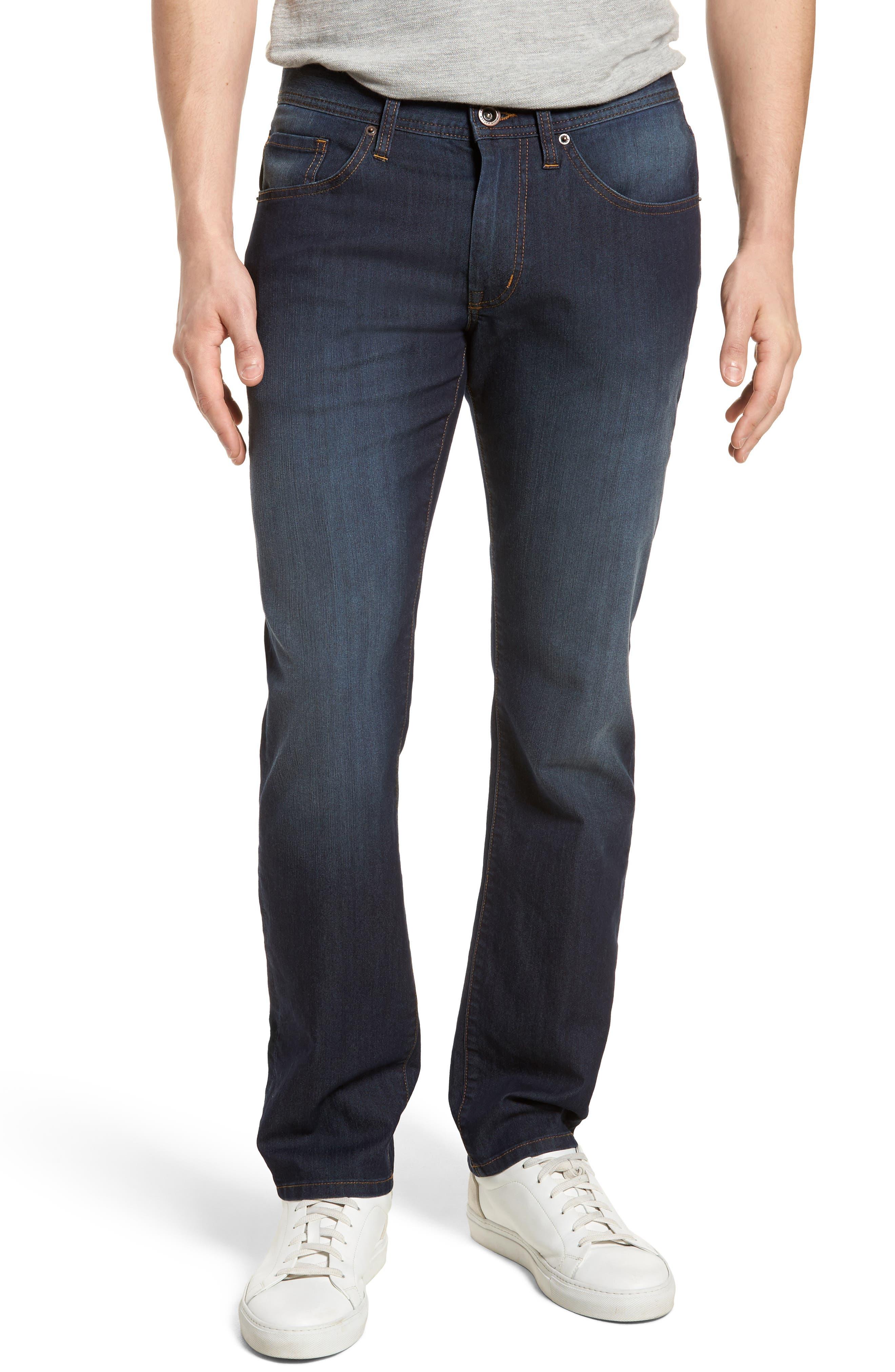 The 101 Regular Fit Straight Leg Jeans,                         Main,                         color, Indigo