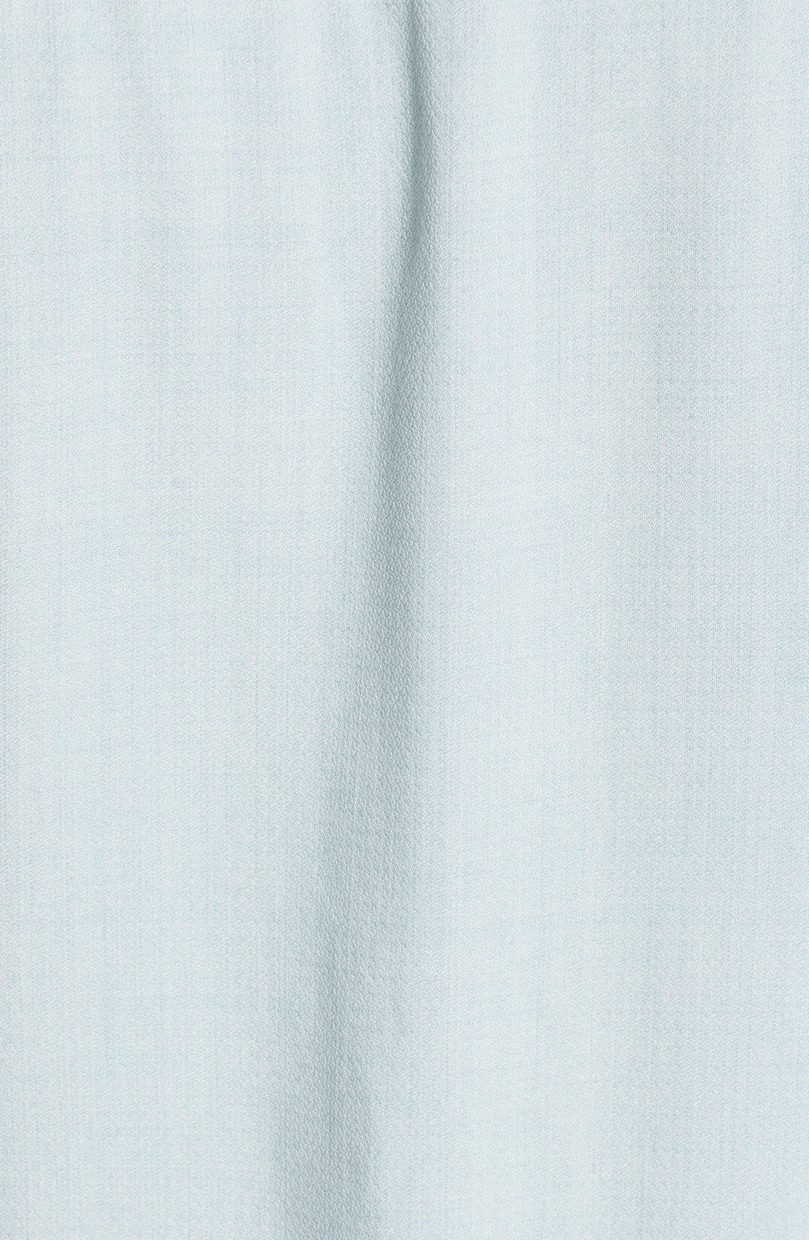 Chambray Shift Dress,                             Alternate thumbnail 5, color,                             Polar