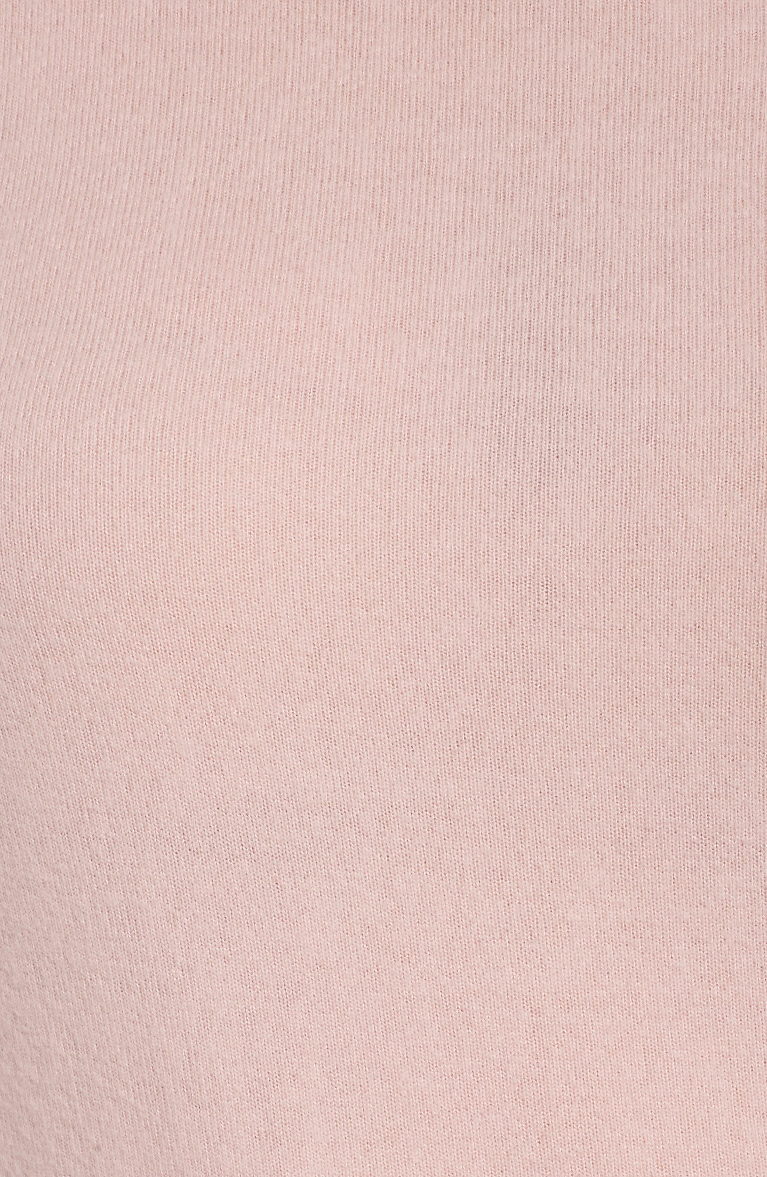 Alternate Image 7  - Make + Model Cozy Crew Lounge Sweater (Plus Size)