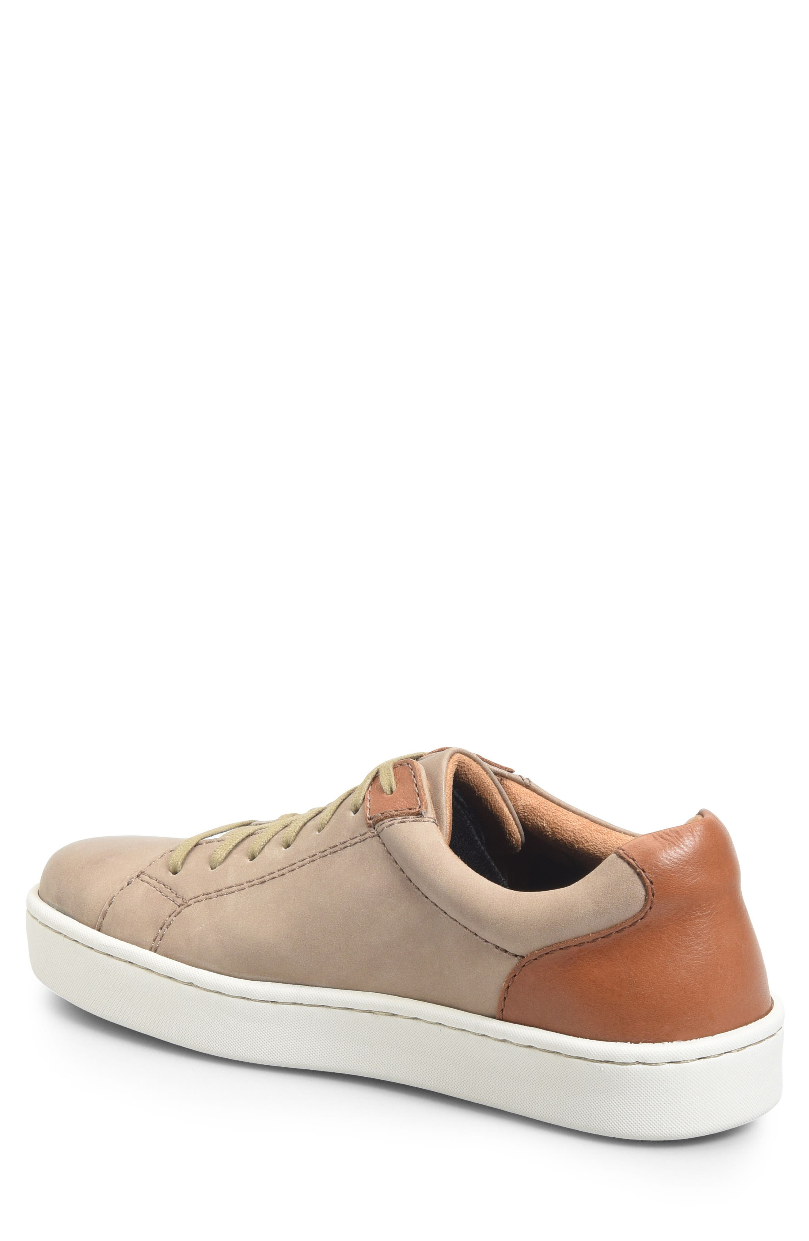 Jib Sneaker,                             Alternate thumbnail 2, color,                             Taupe/ Brown Leather