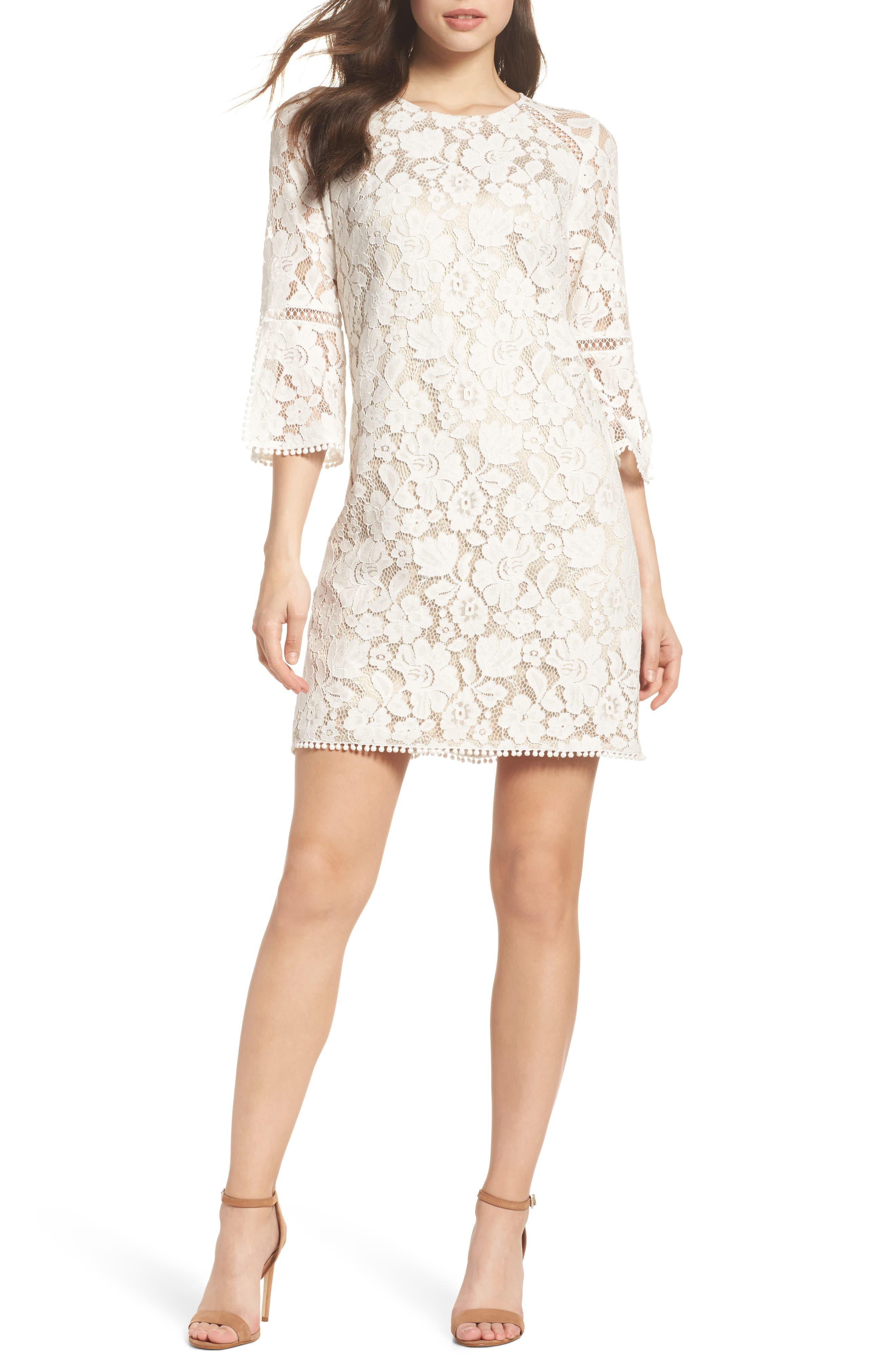 Main Image - Vince Camuto Lace A-Line Dress