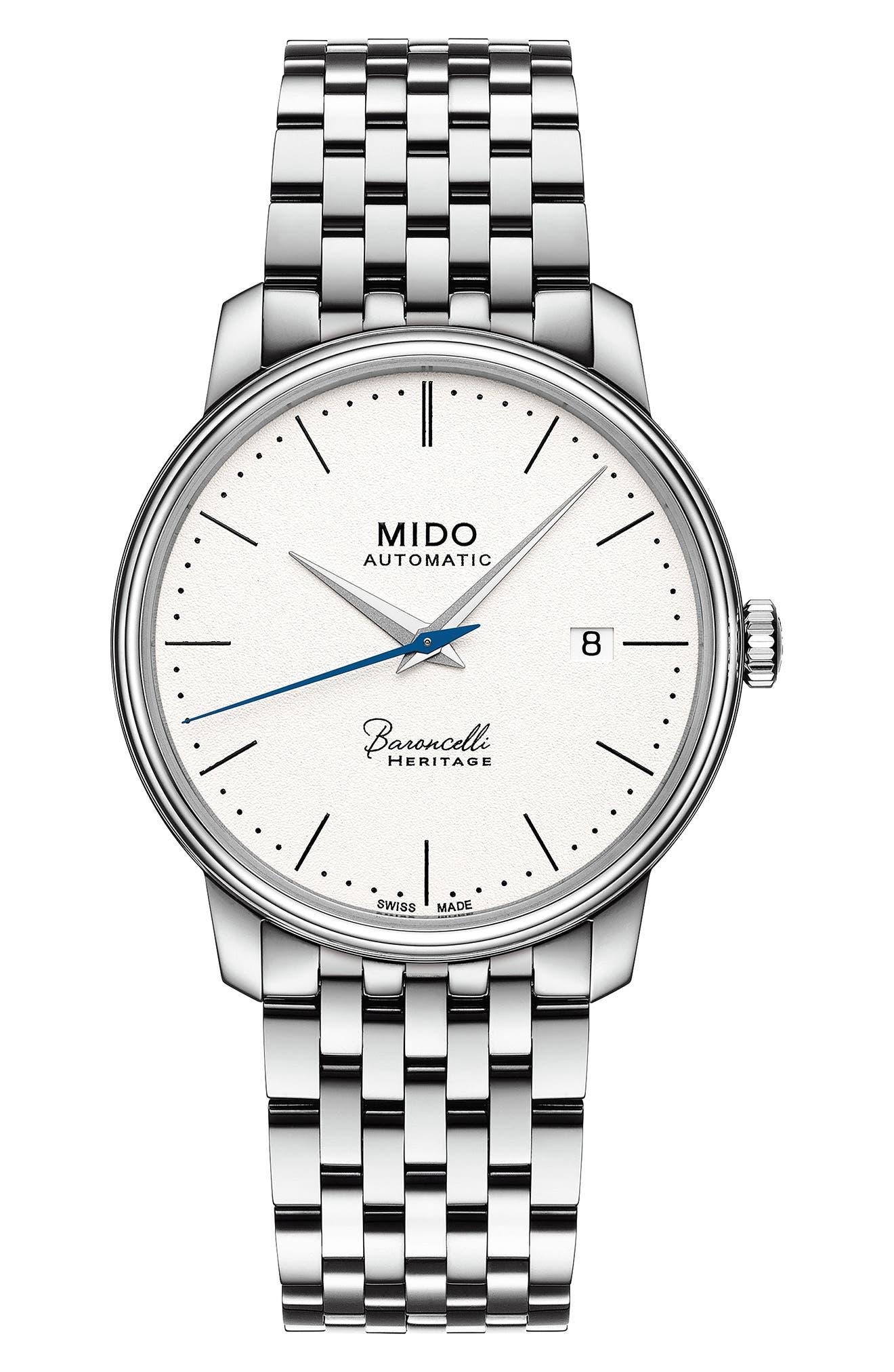 MIDO Baroncelli III Bracelet Watch, 39mm