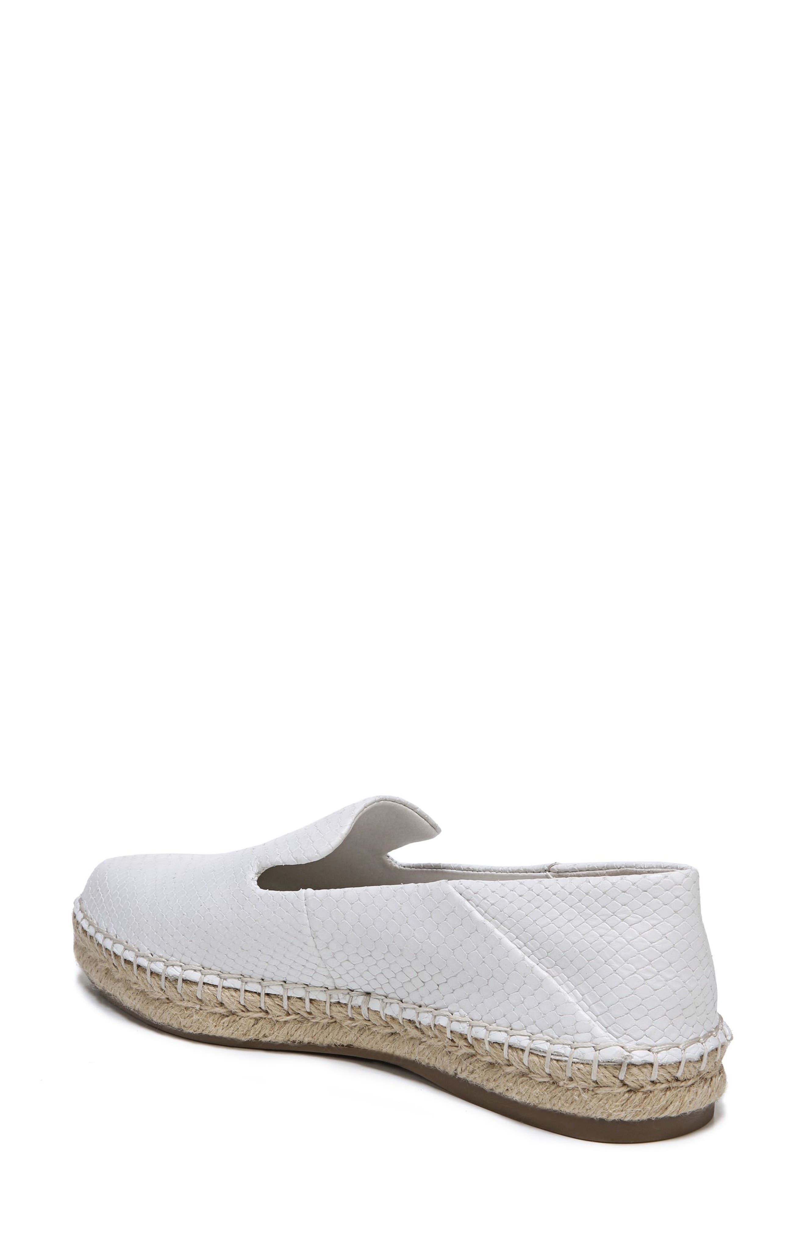 Eviana Espadrille Loafer,                             Alternate thumbnail 2, color,                             Blanca Snake Print Leather