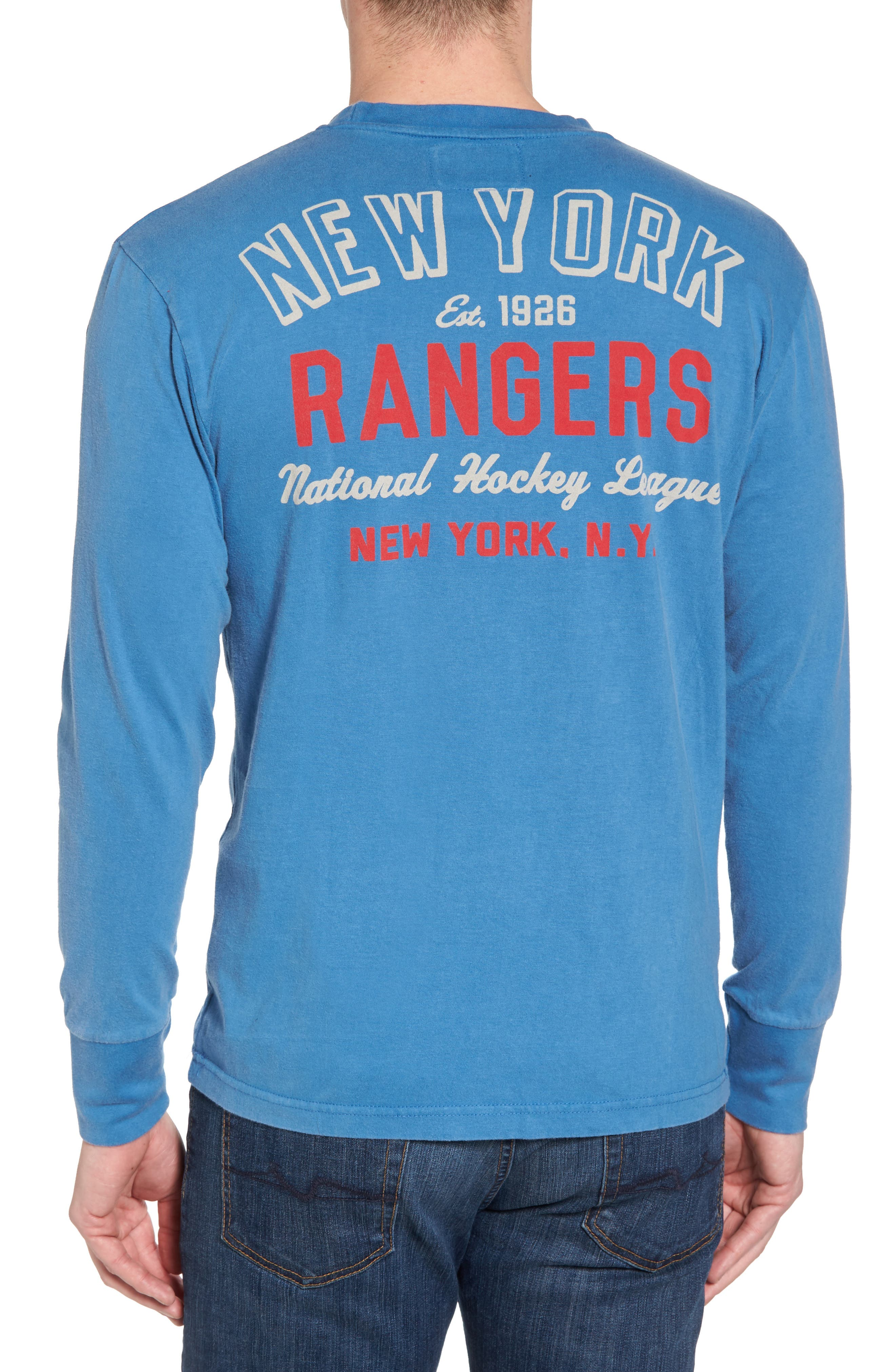 Gresham New York Rangers T-Shirt,                             Alternate thumbnail 2, color,                             Royal