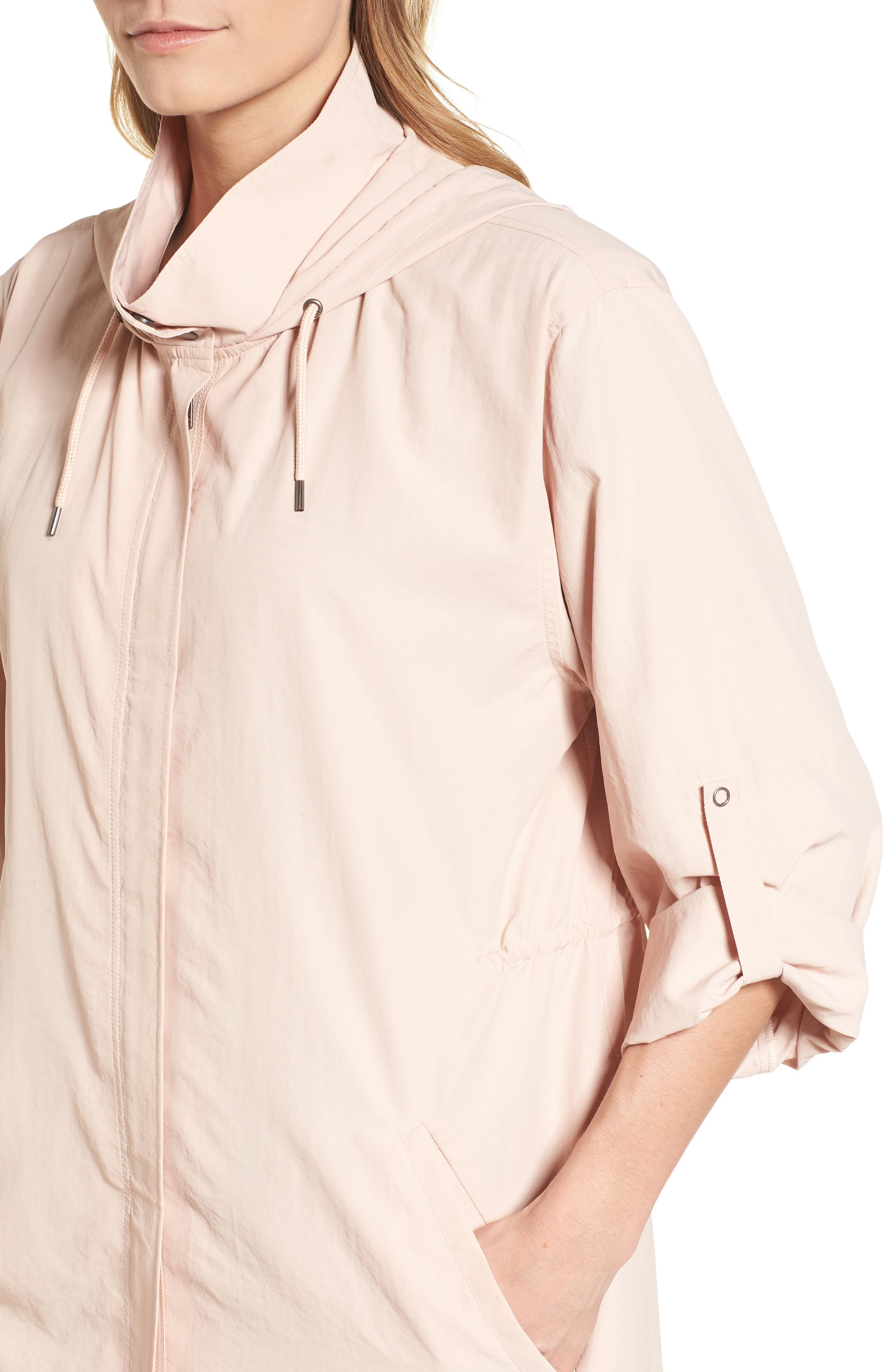 Alternate Image 4  - Caslon® Tumbled Anorak Jacket (Regular & Petite)