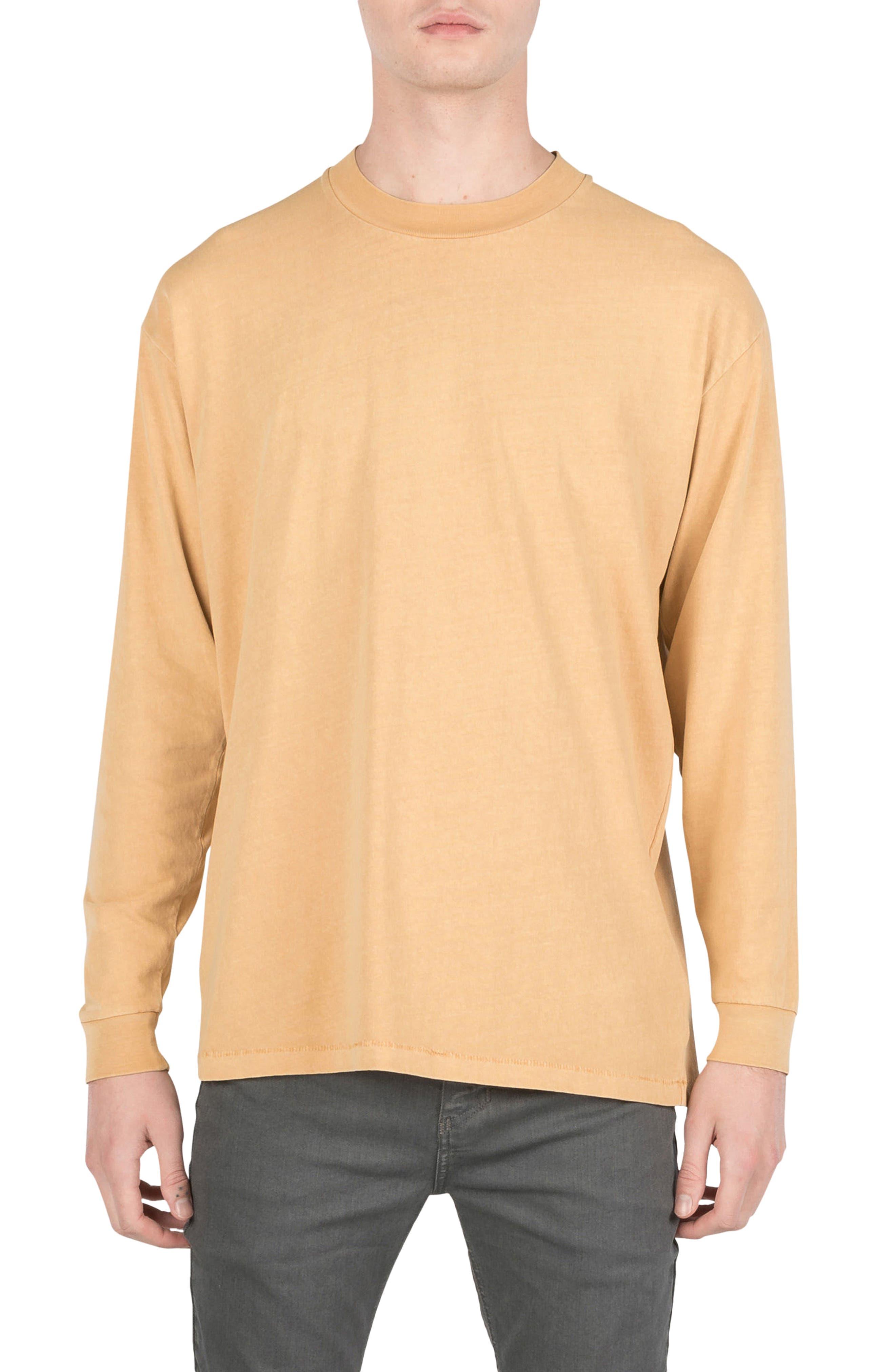 Box T-Shirt,                         Main,                         color, Saffron