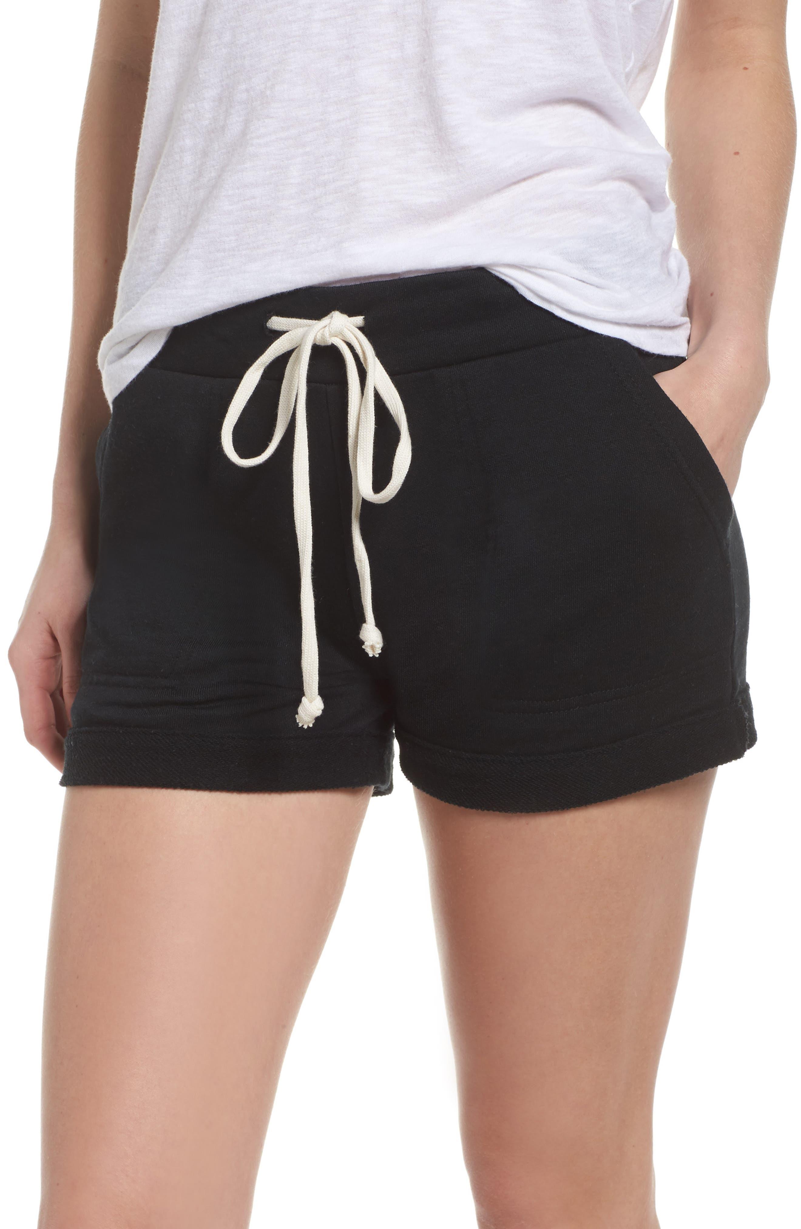 Lounge Shorts,                         Main,                         color, True Black