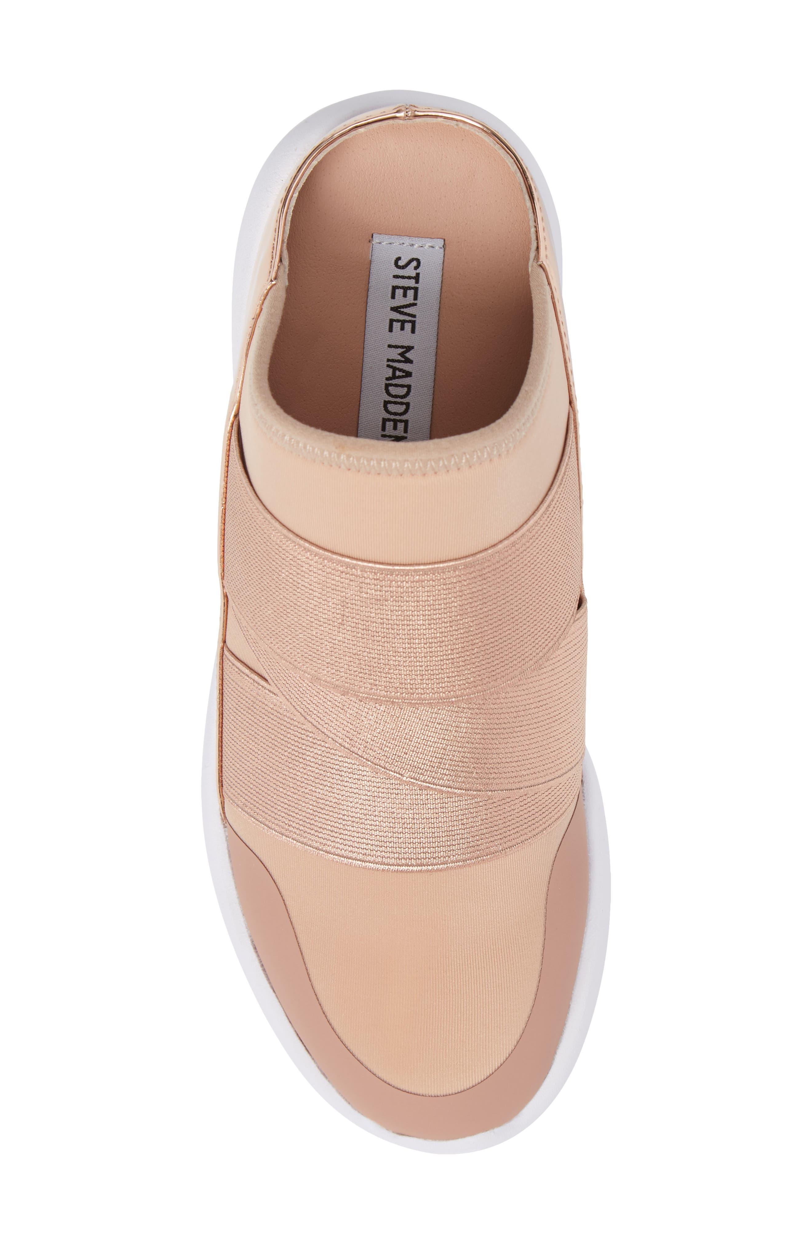 Vine Slip-On Sneaker,                             Alternate thumbnail 5, color,                             Blush