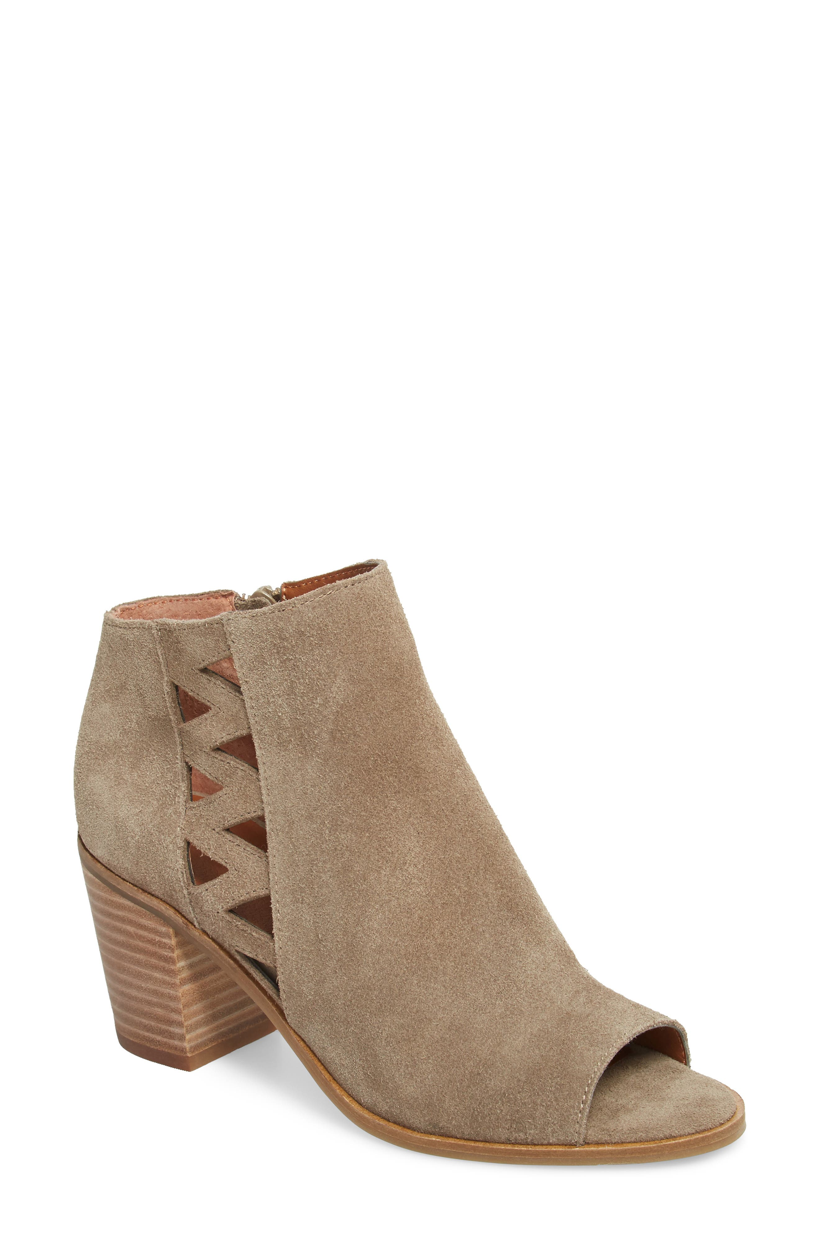 Kantoah Bootie,                         Main,                         color, Brindle Suede