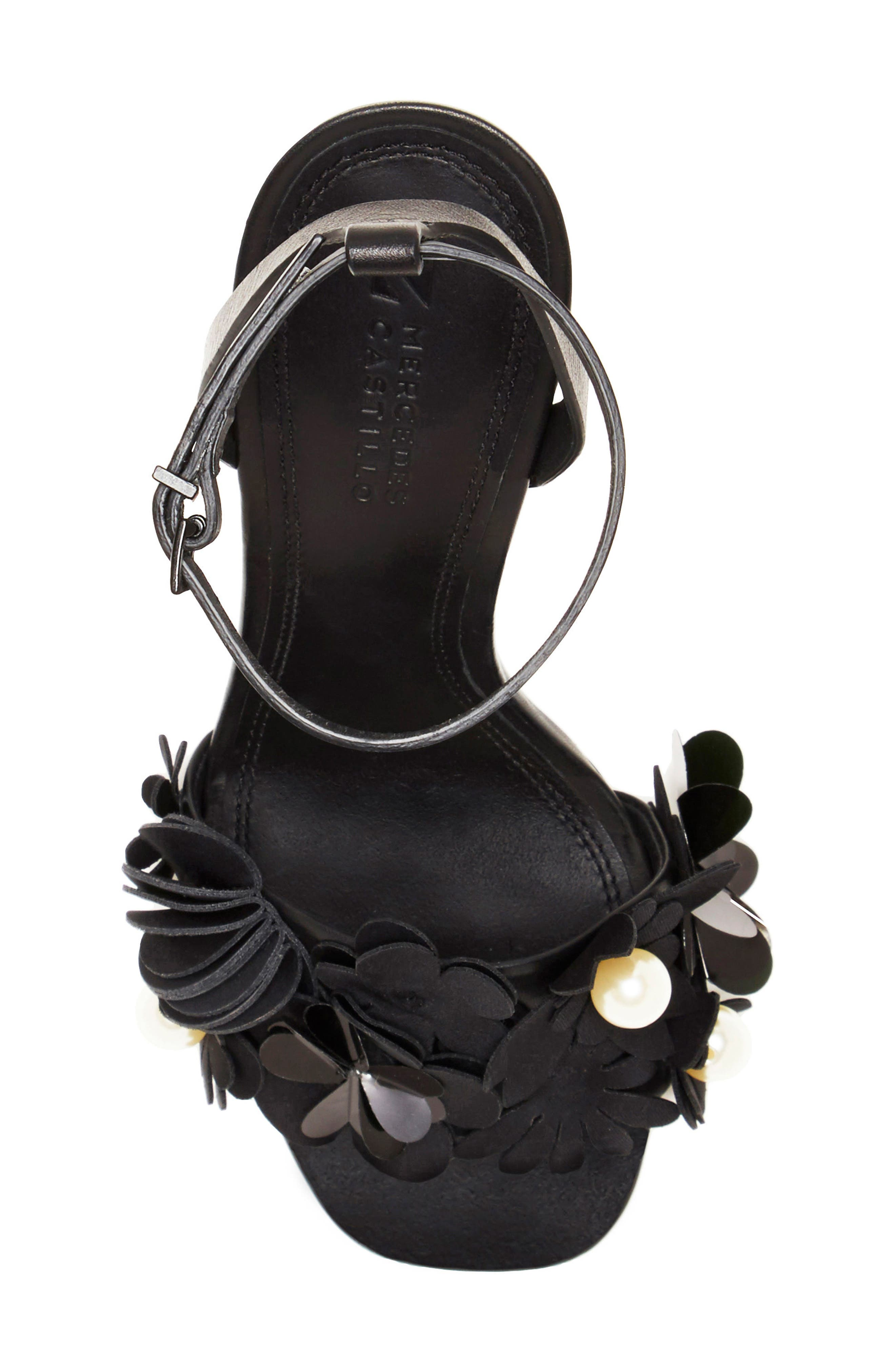 Alternate Image 4  - Mercedes Castillo Bellisa Embellished Ankle Strap Sandal (Women)