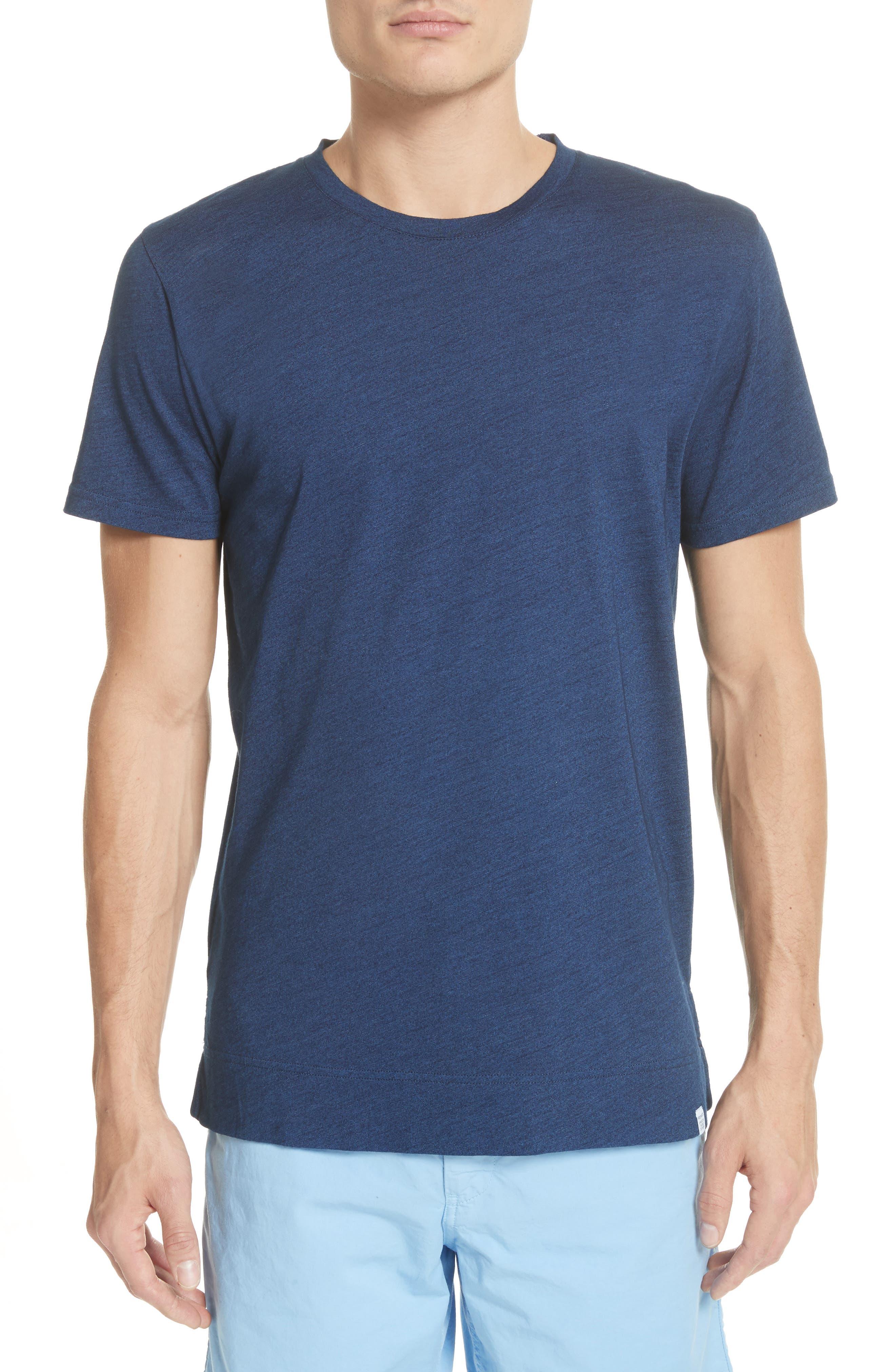 Niels Indigo T-Shirt,                         Main,                         color, Indigo