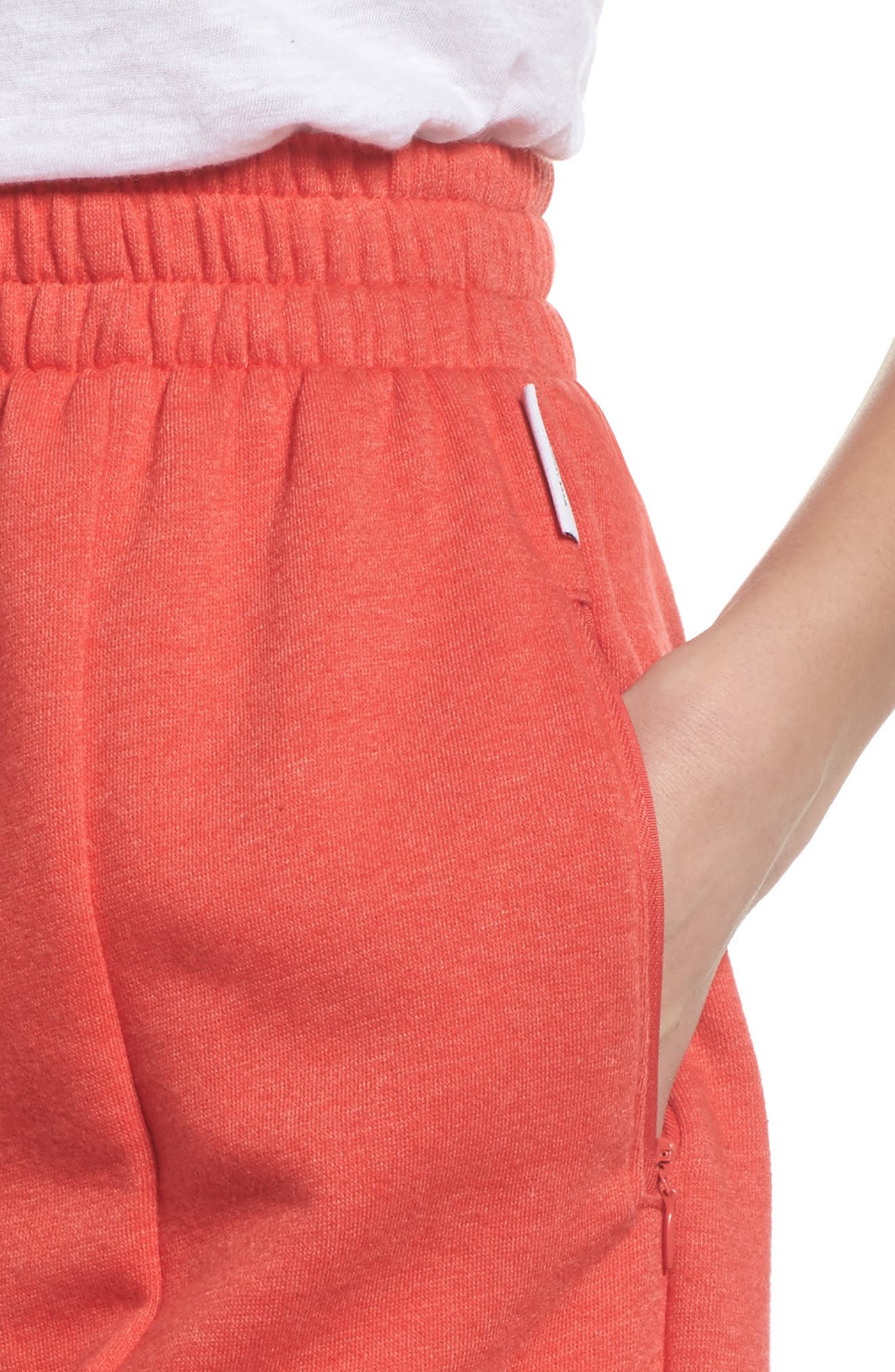 Bermuda Lounge Shorts,                             Alternate thumbnail 4, color,                             Love Red