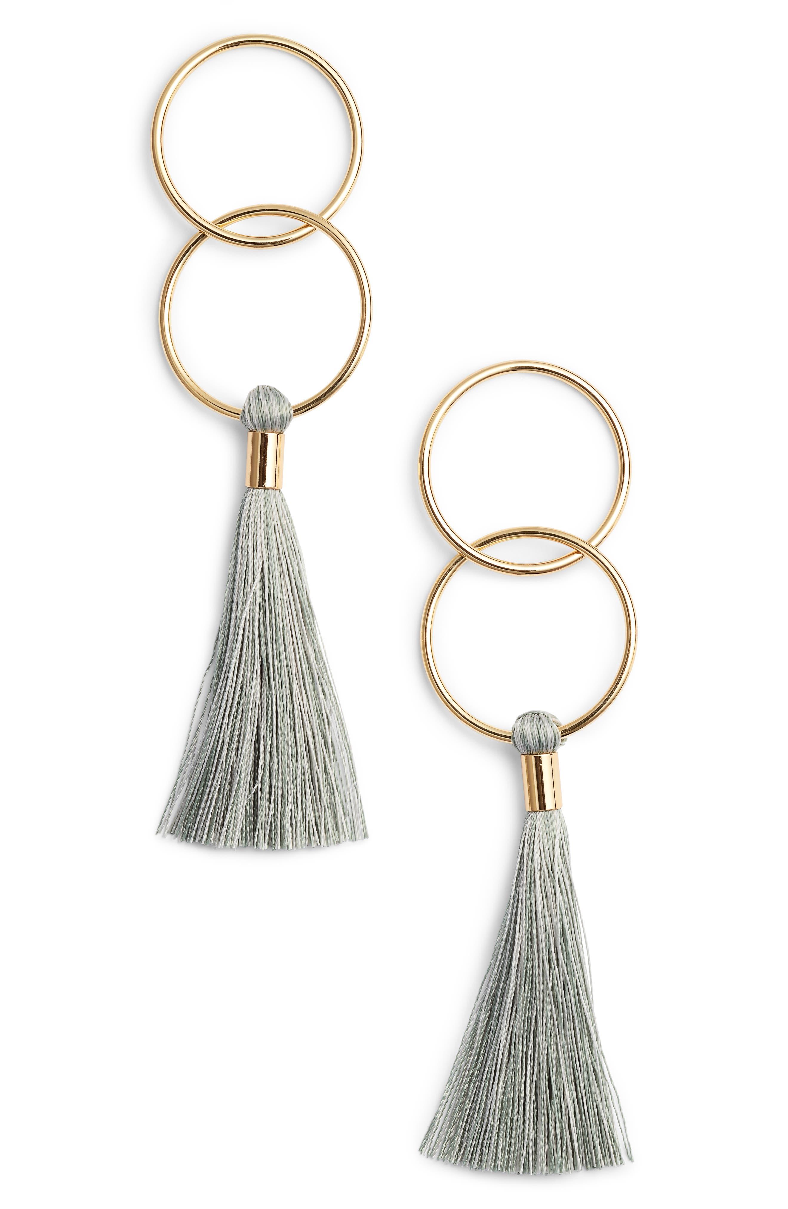 Alternate Image 1 Selected - gorjana Carmen Tassel Earrings