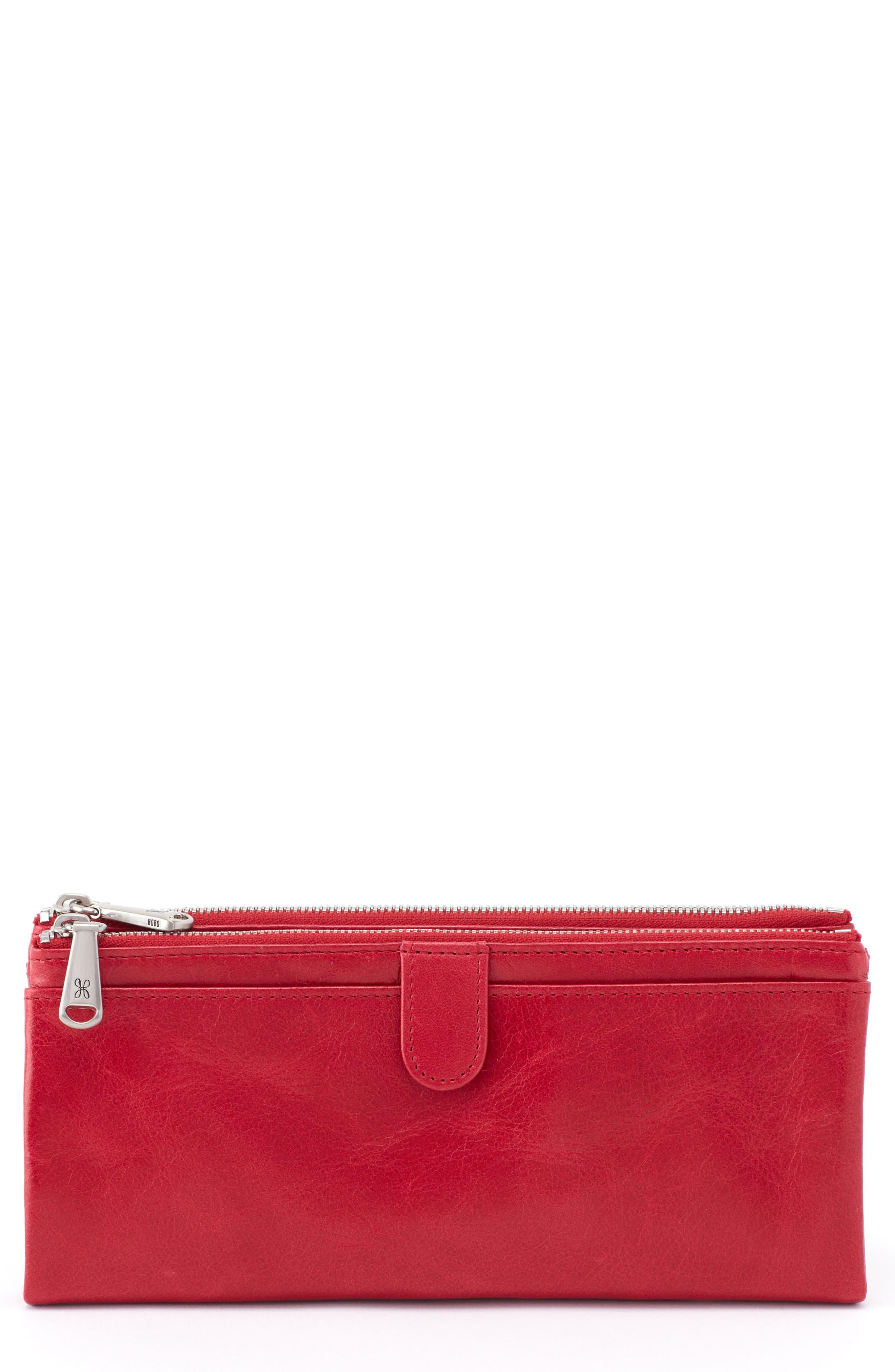 Hobo 'Taylor' Glazed Leather Wallet