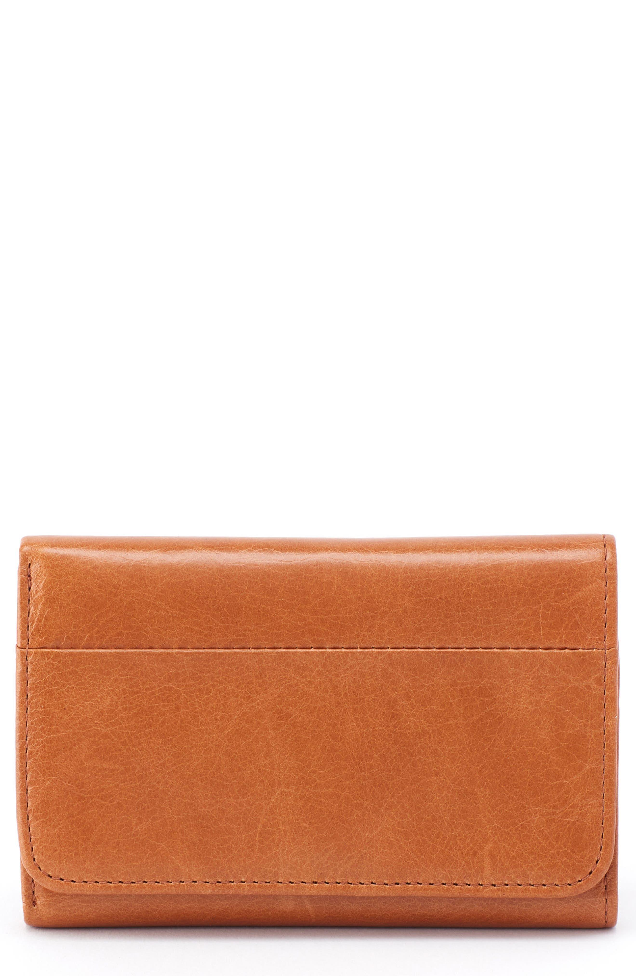 Leather Zip Around Wallet - HARMONY by VIDA VIDA g5501Y