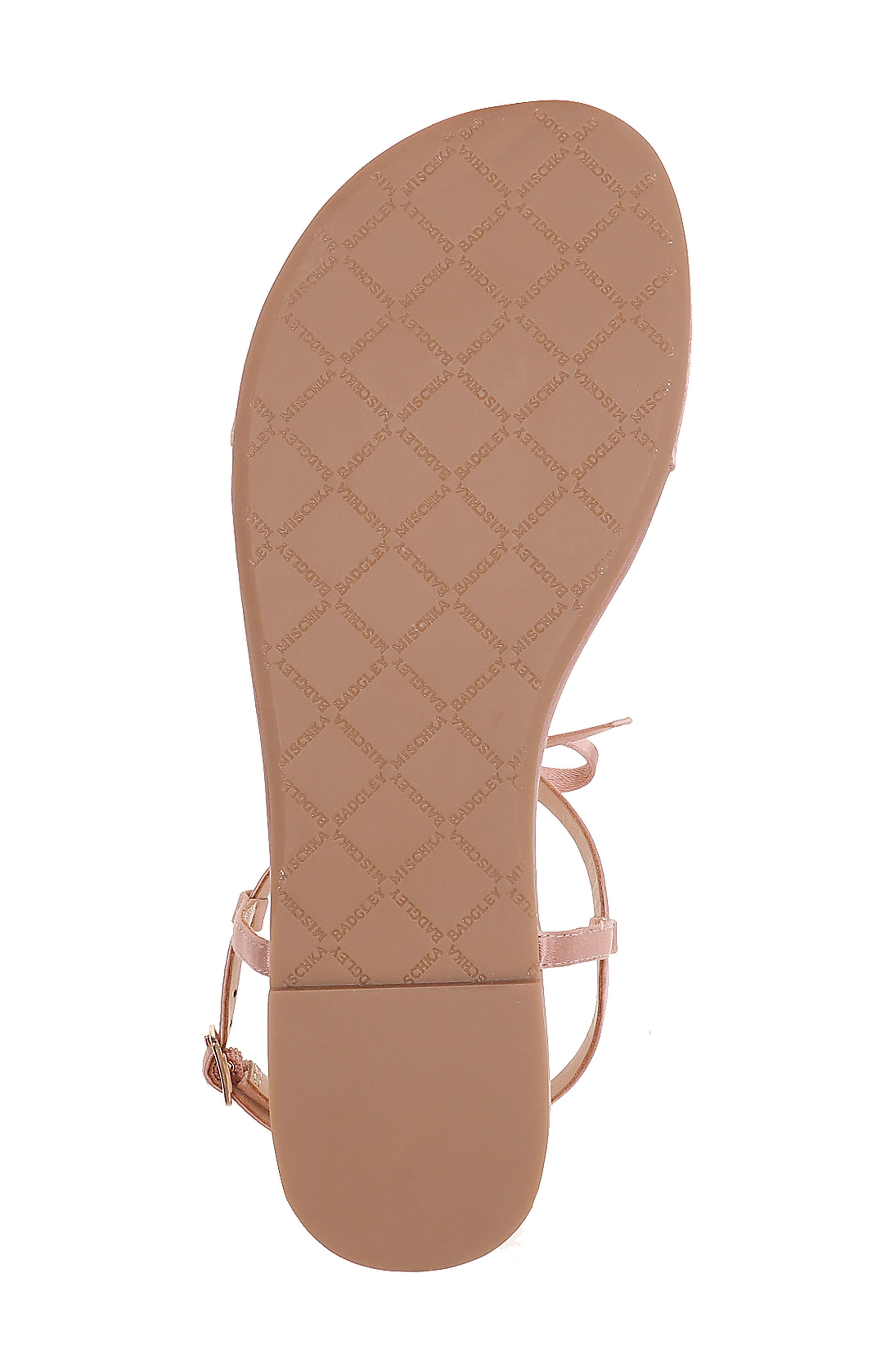 Honey Embellished Sandal,                             Alternate thumbnail 6, color,                             Dark Pink Satin