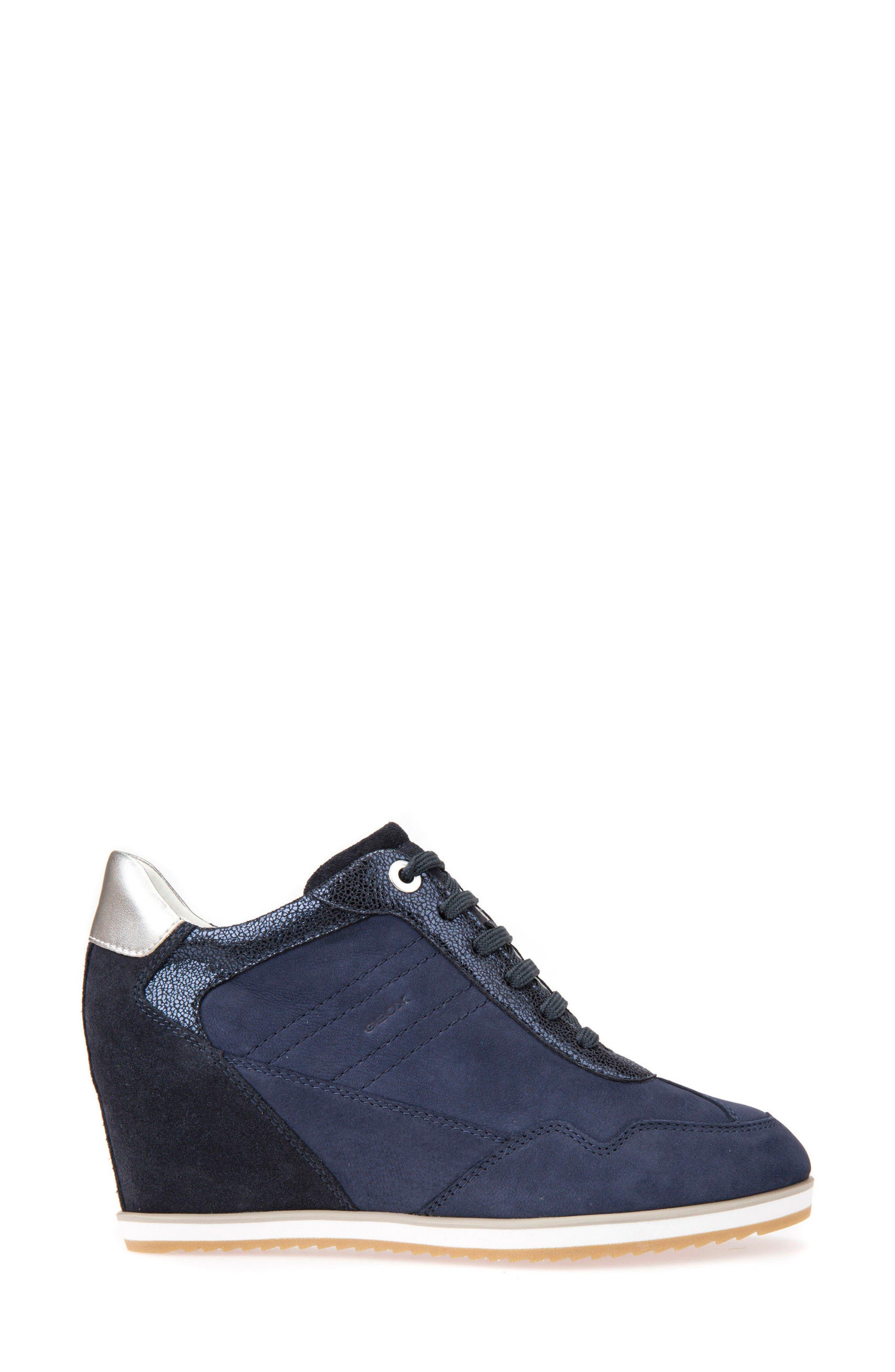 Alternate Image 3  - Geox Illusion 34 Wedge Sneaker (Women)
