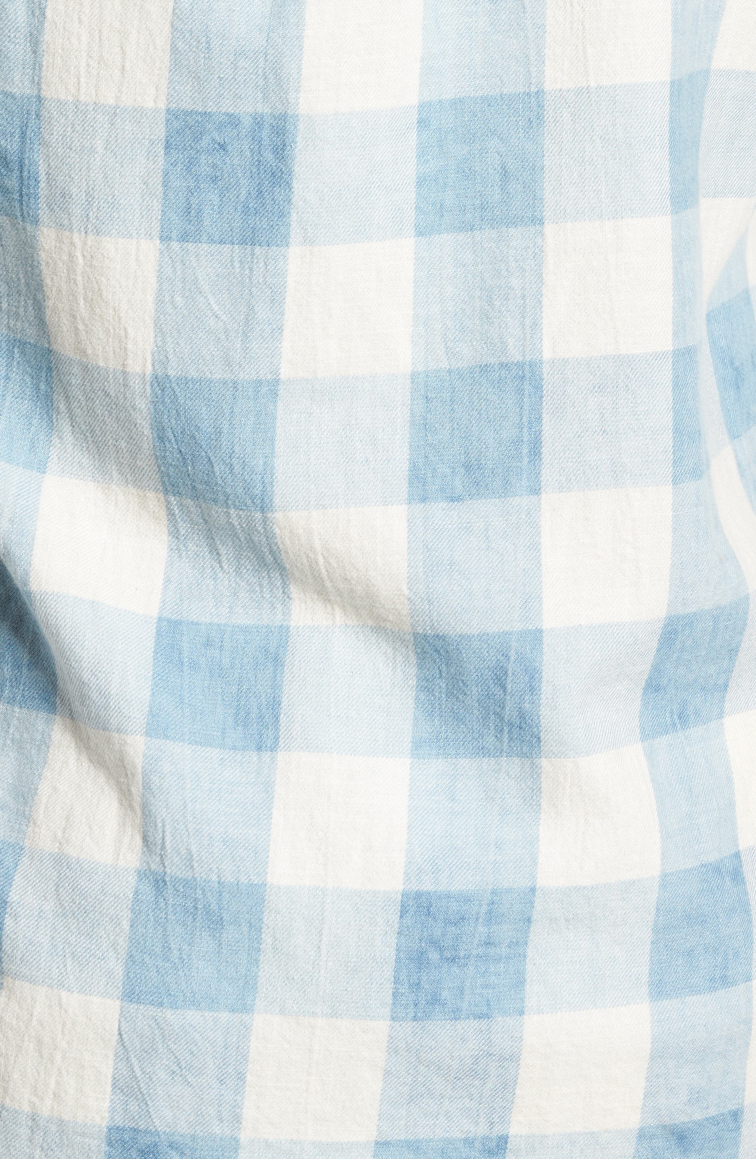 Amsterdams Blauw Check Shirt,                             Alternate thumbnail 5, color,                             Combo A