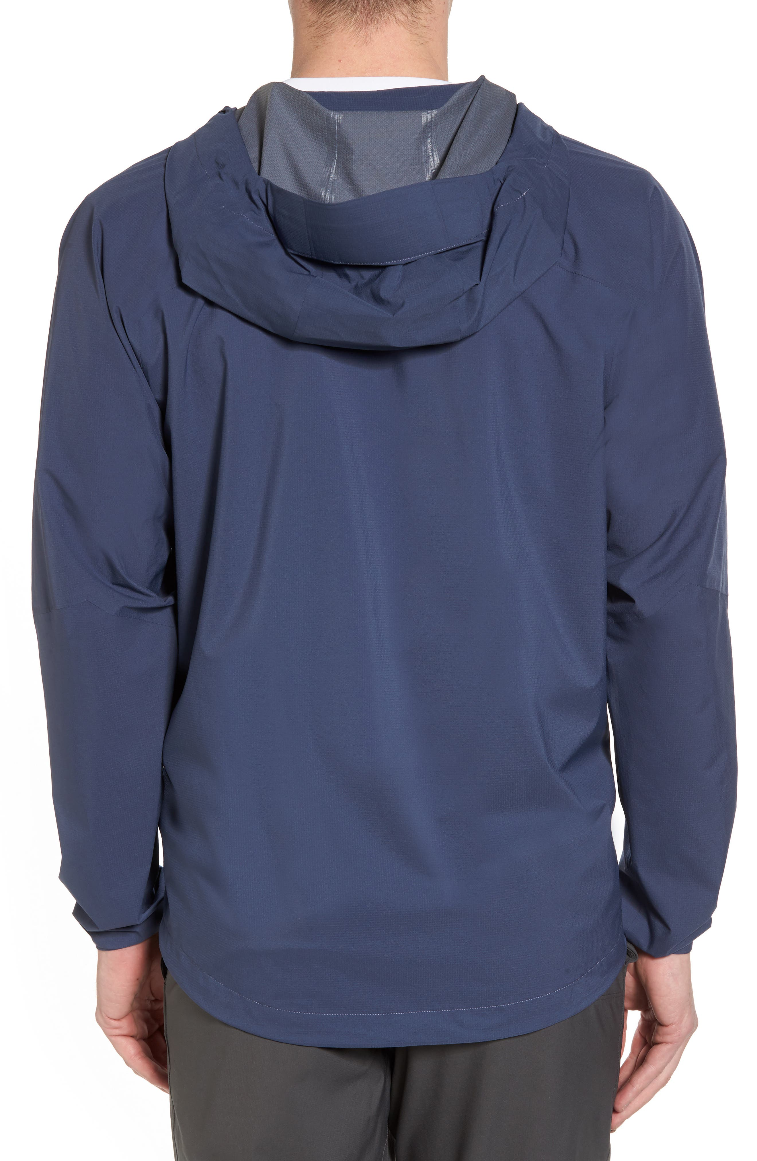 Stretch Rainshadow Jacket,                             Alternate thumbnail 2, color,                             Dolomite Blue