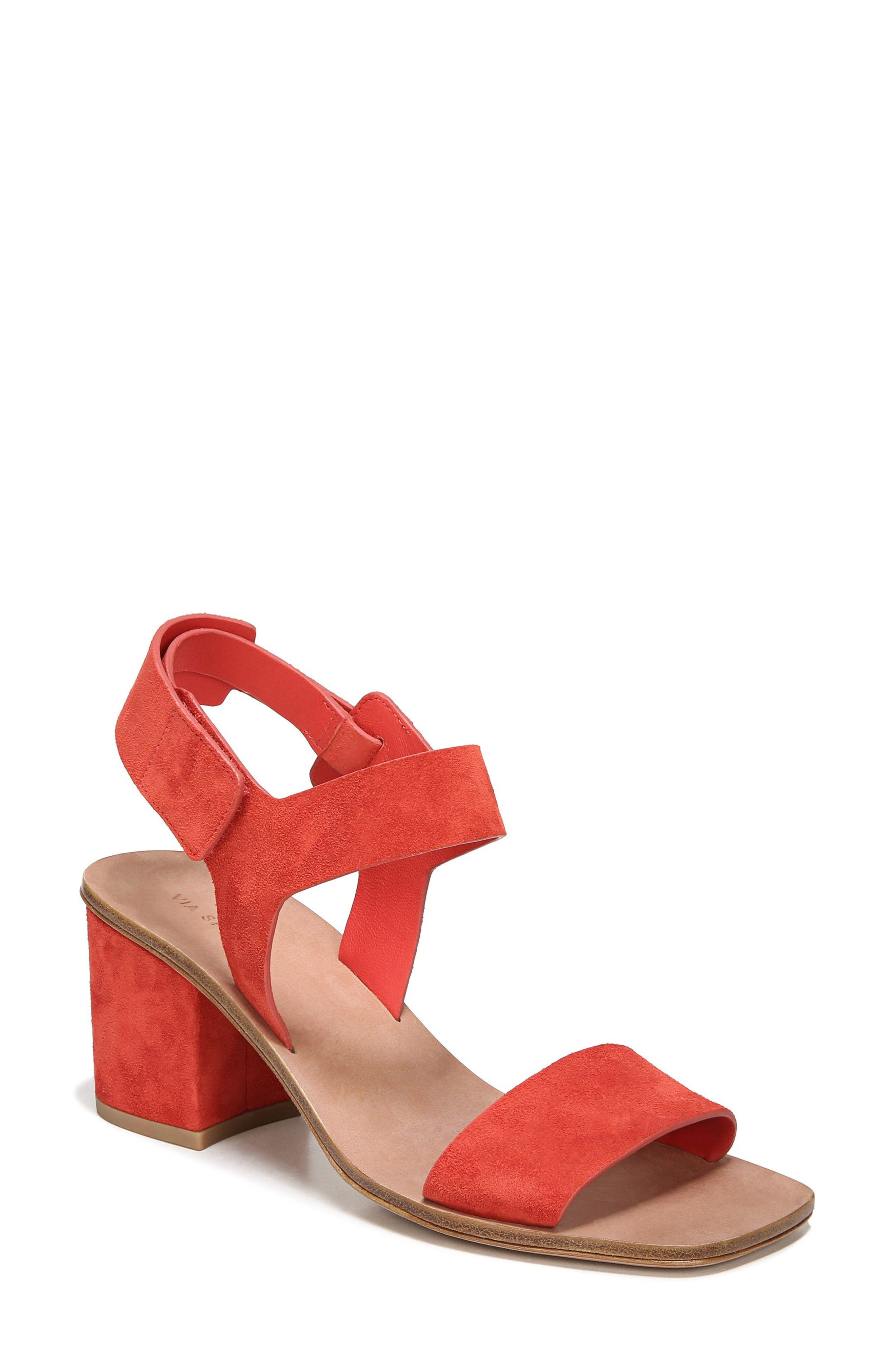 Via Spiga Kamille Block Heel Sandal (Women)