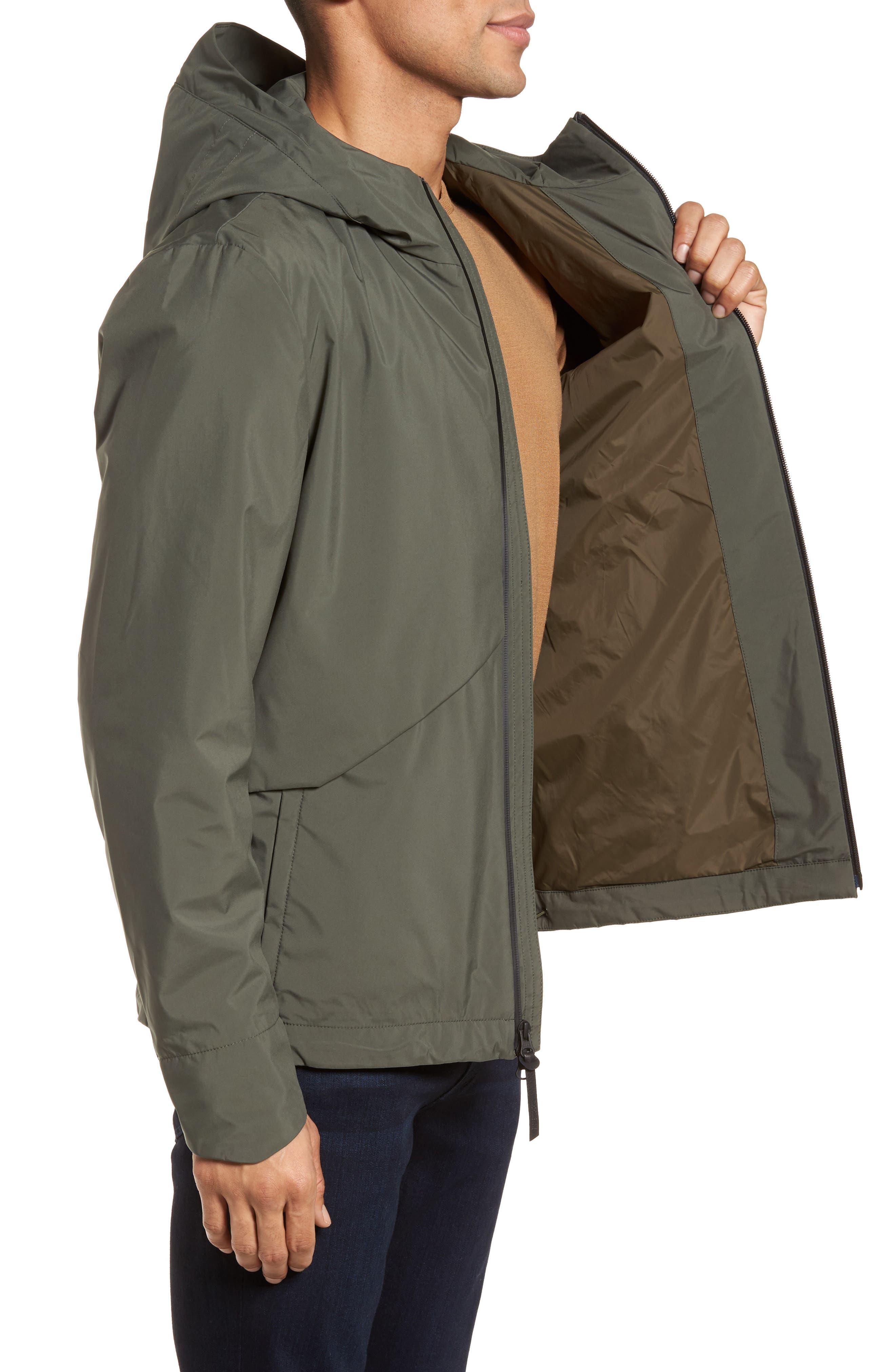 & Bros. Navigator Field Jacket,                             Alternate thumbnail 3, color,                             Grape Leaf