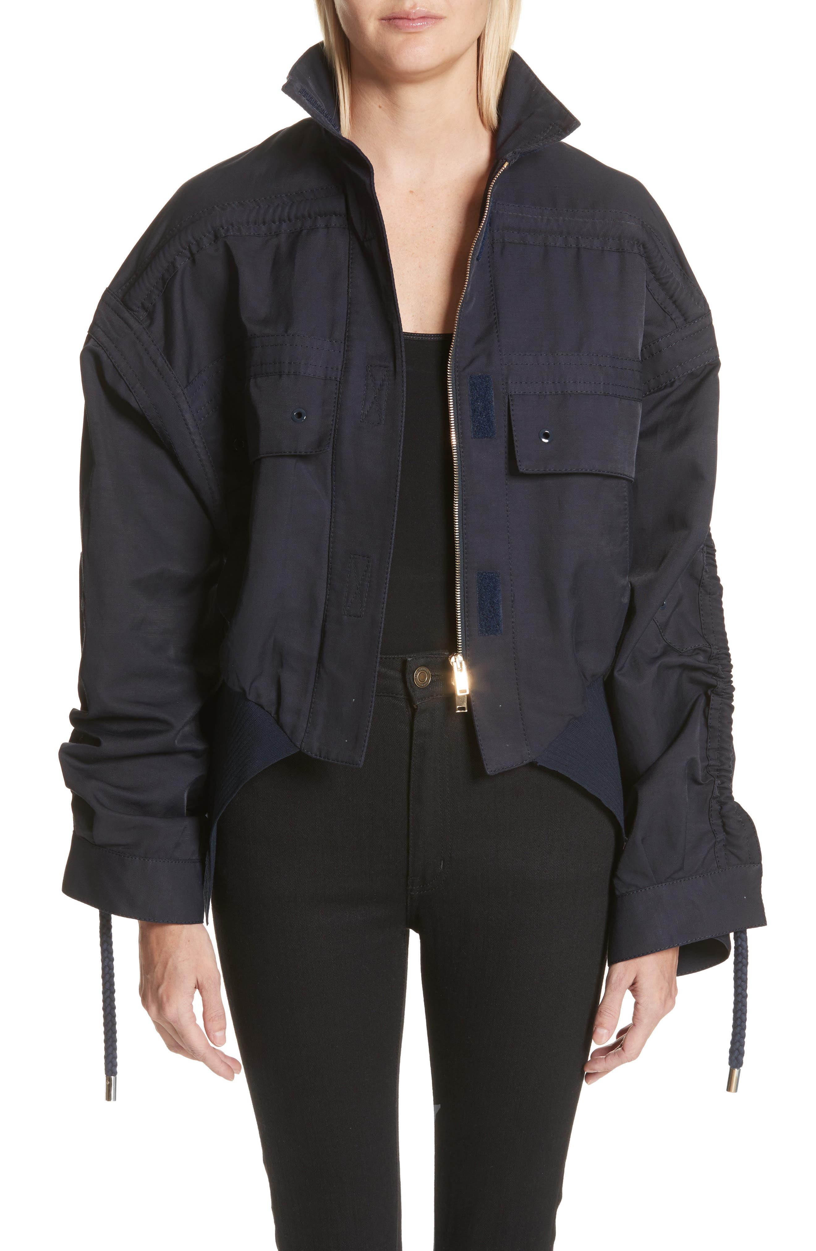 Stella McCartney Lexy Crop Parka