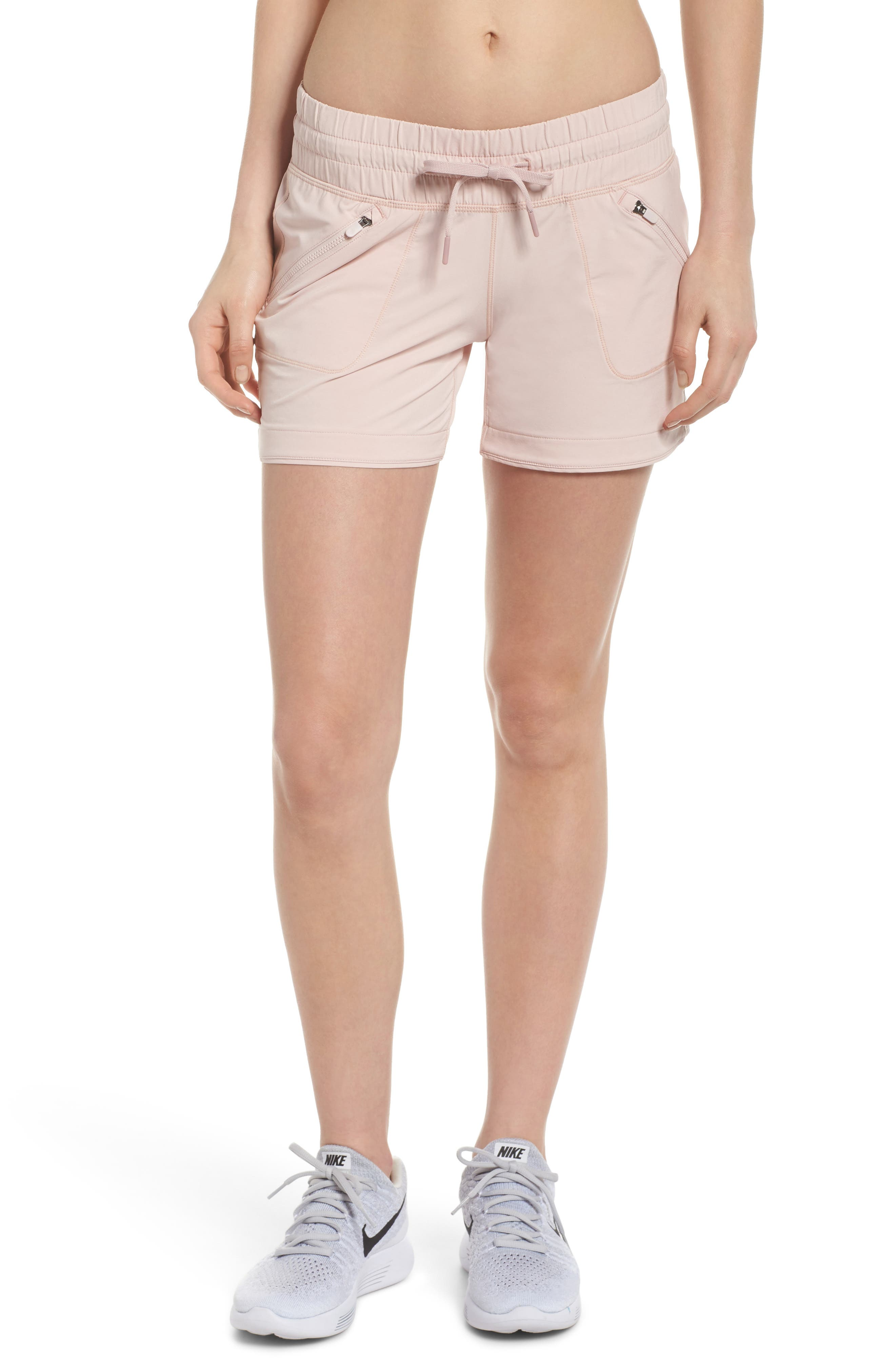 Switchback Shorts,                         Main,                         color, Pink Sepia