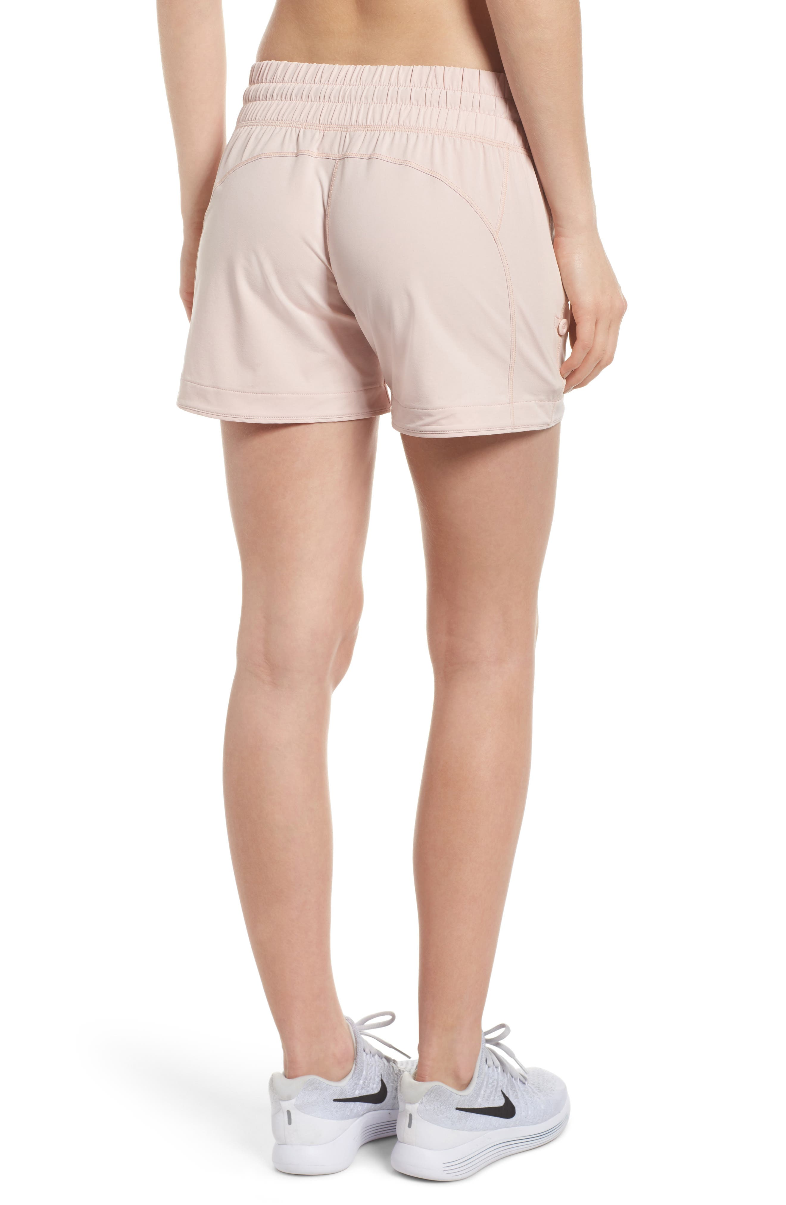 Switchback Shorts,                             Alternate thumbnail 2, color,                             Pink Sepia