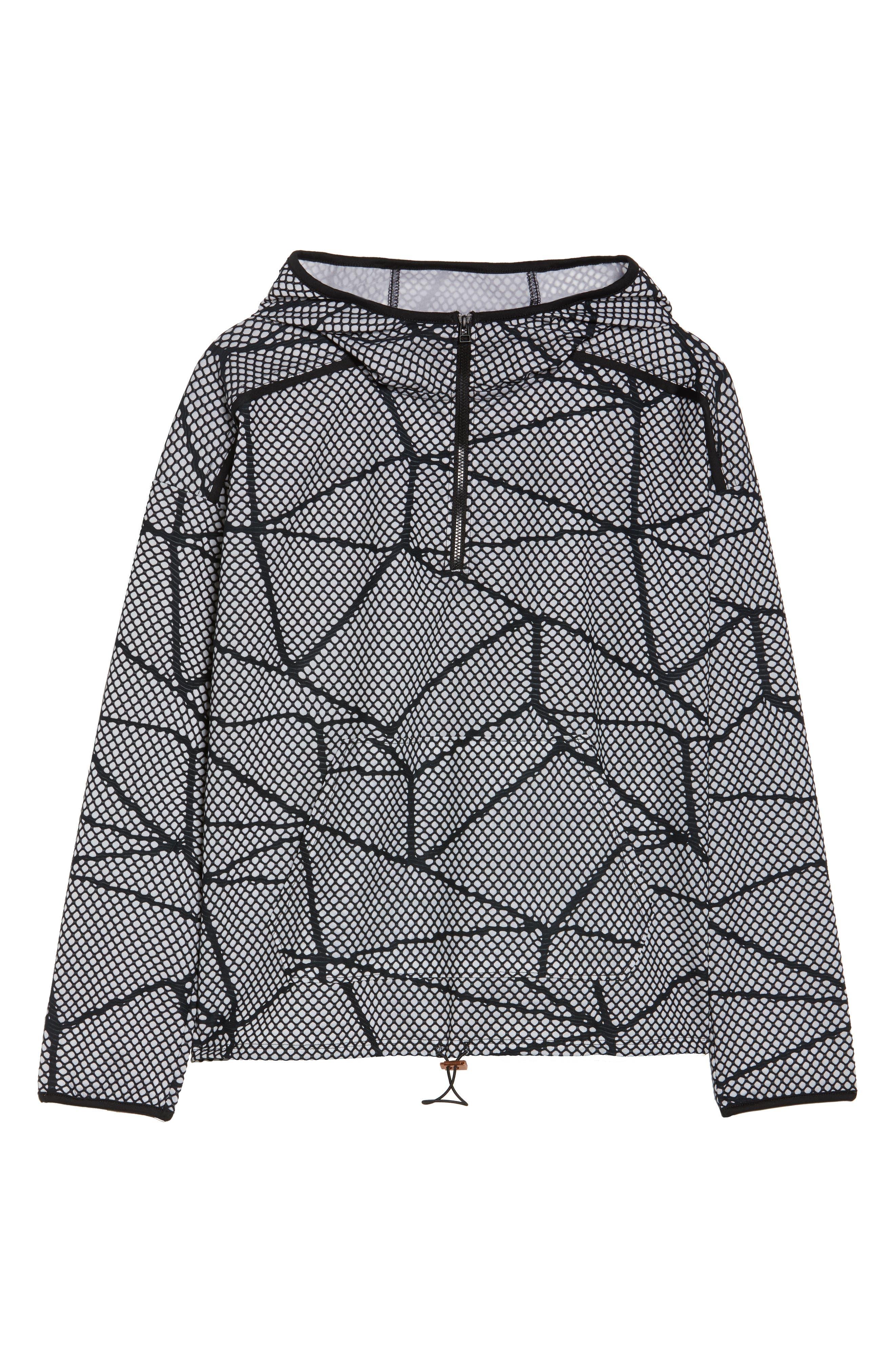 Chromatic Hoodie Pullover,                             Alternate thumbnail 7, color,                             Black-White Chromatic