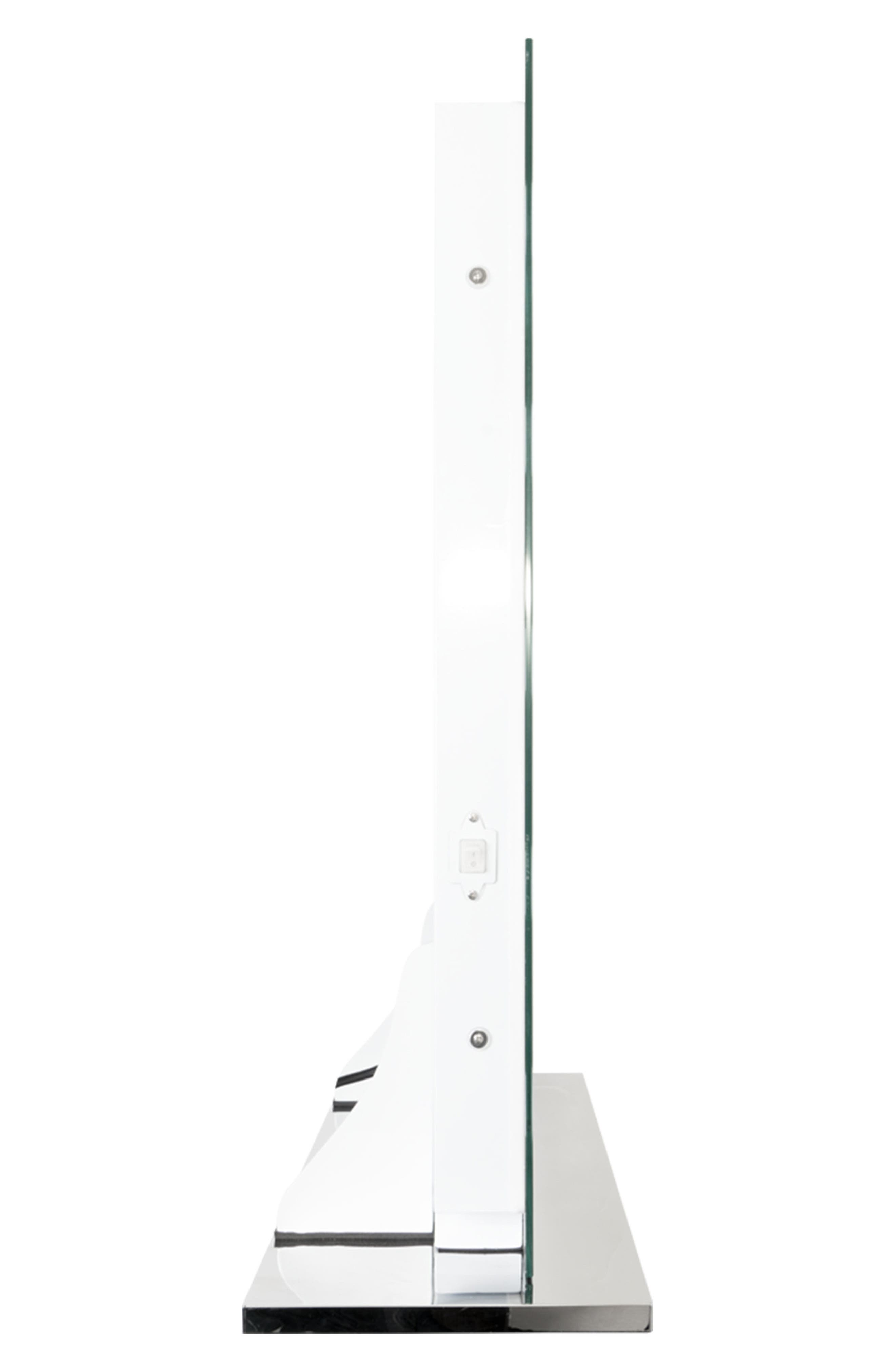 Mirage II LED Vanity Mirror,                             Alternate thumbnail 3, color,                             Clear