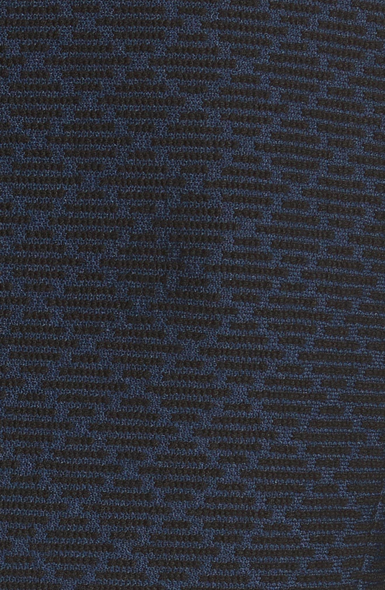 Diamond Jacquard Blazer,                             Alternate thumbnail 5, color,                             Navy/ Grey