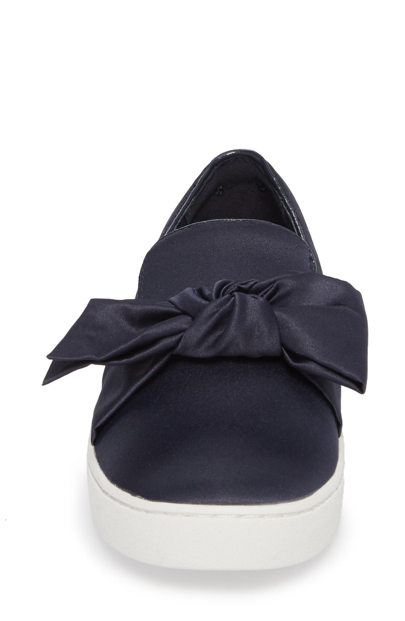 Willa Sneaker,                             Alternate thumbnail 4, color,                             Admiral Satin