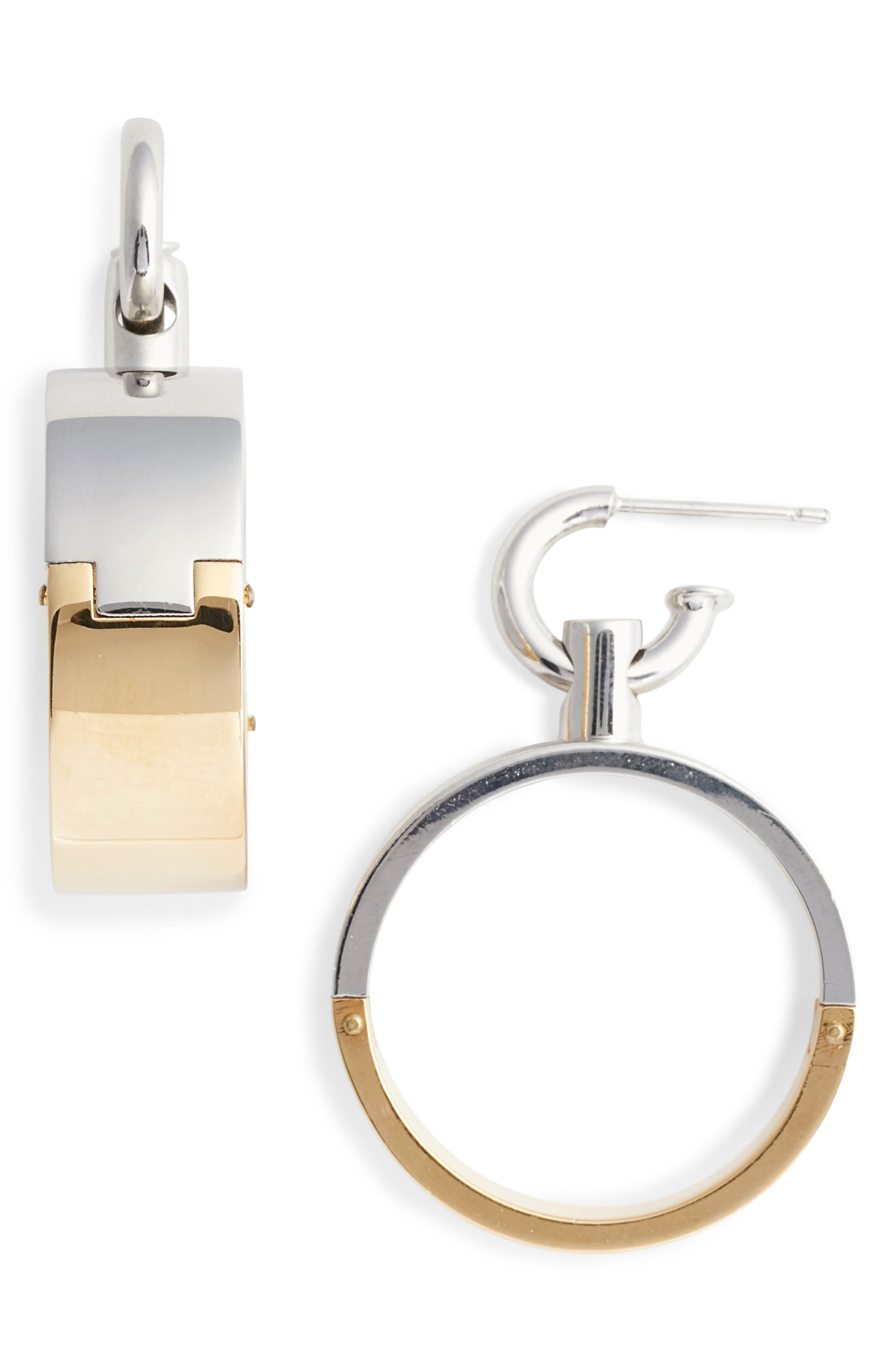 Alexander Wang Interlocking Hoop Earrings