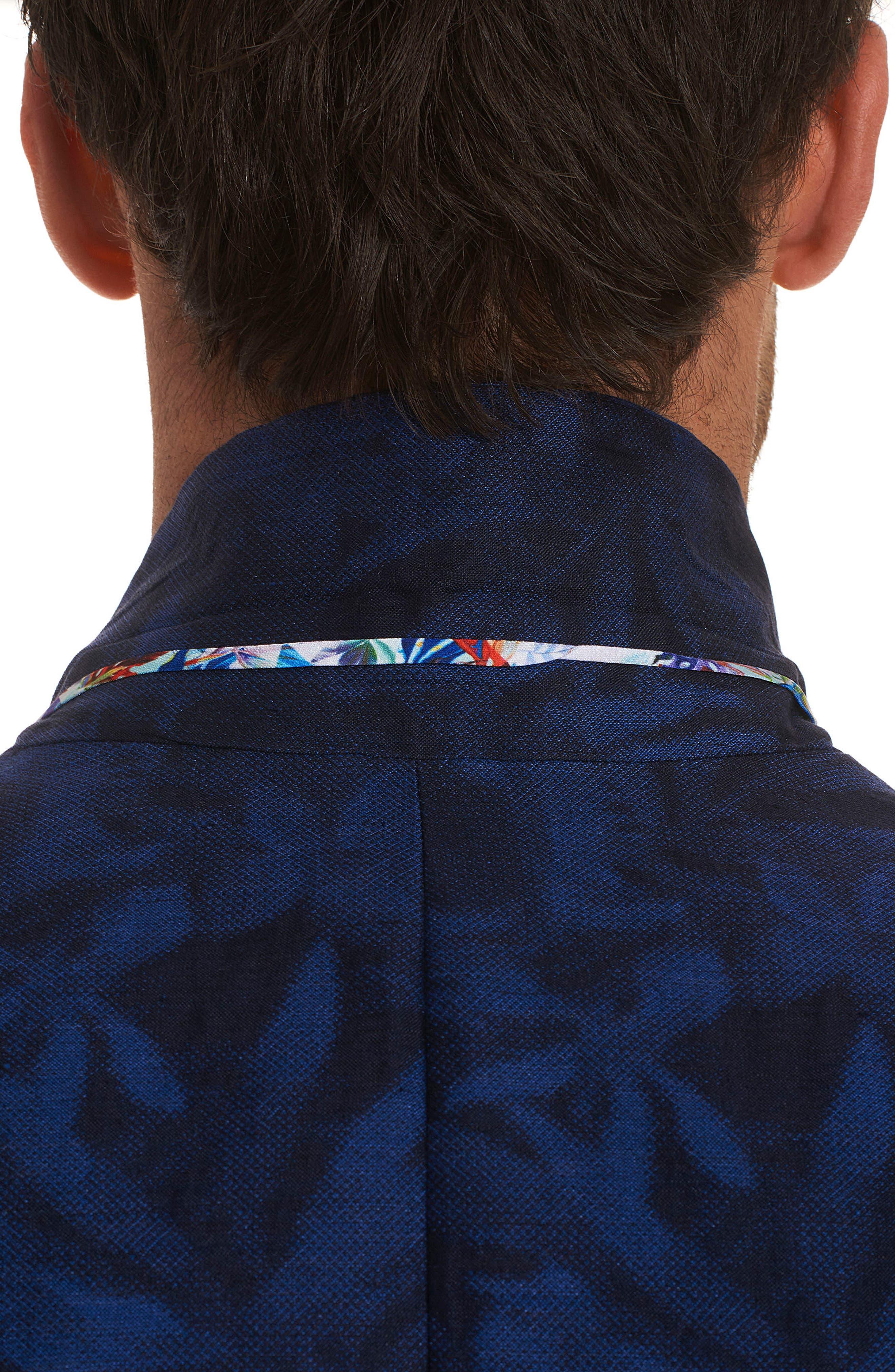 Buxons Linen & Cotton Sport Coat,                             Alternate thumbnail 3, color,                             Blue