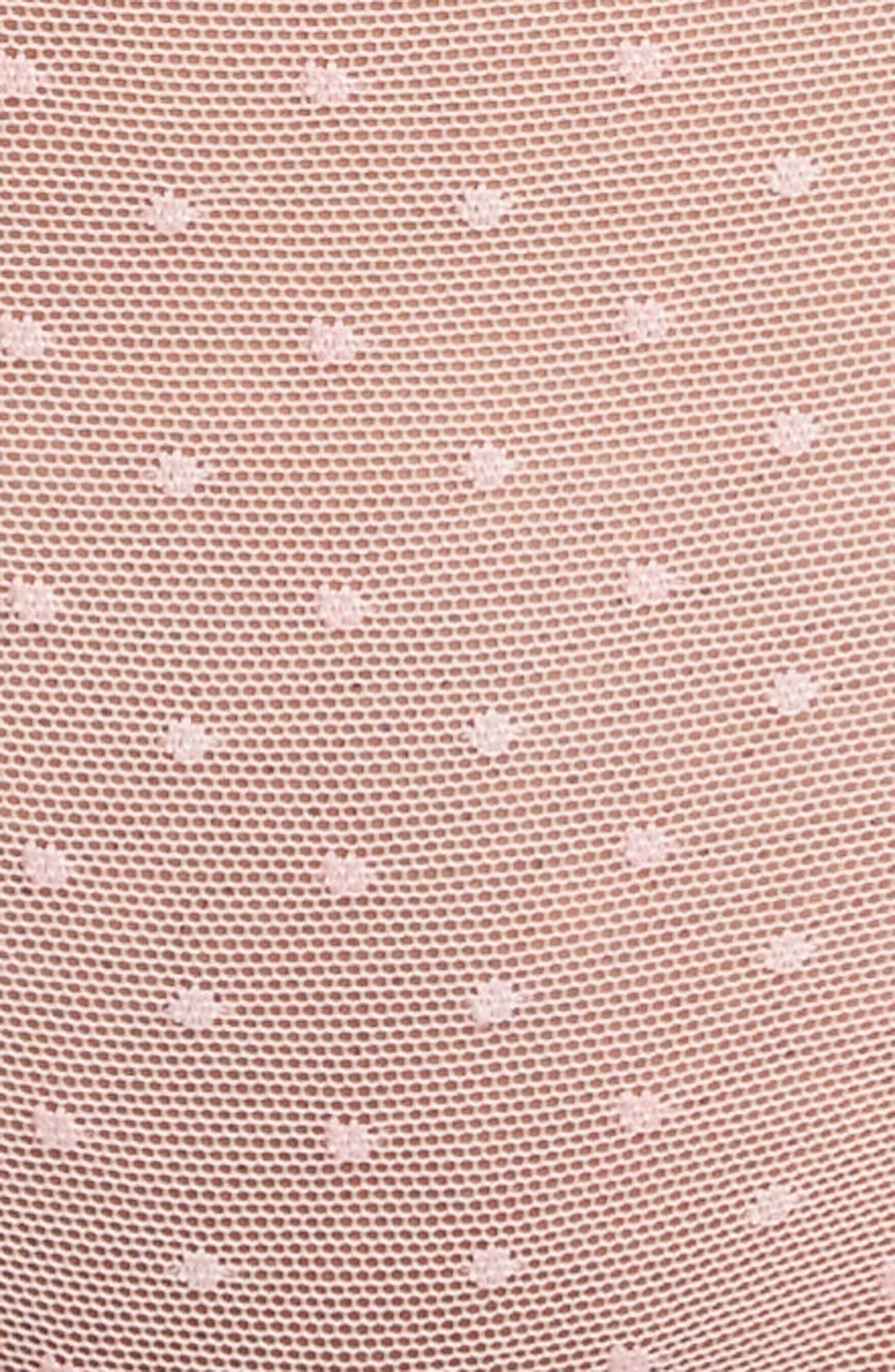 Swiss Dot Bikini,                             Alternate thumbnail 9, color,                             Candy Pink