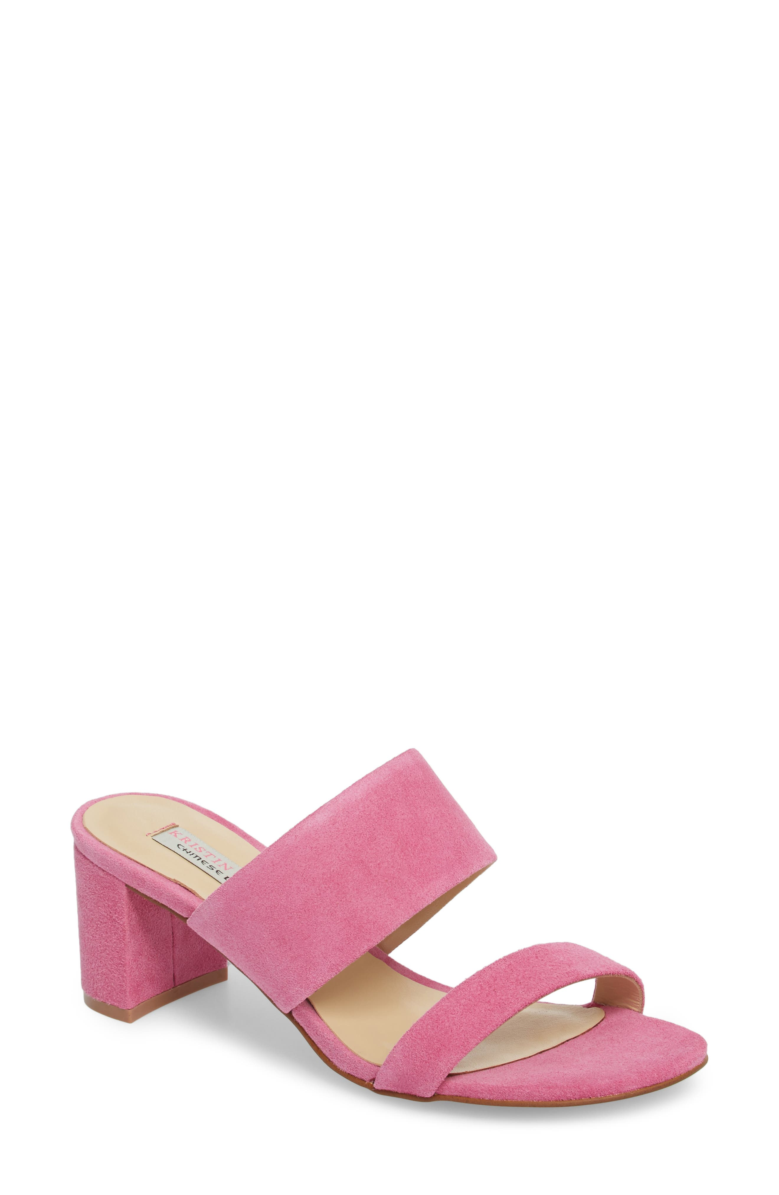 Lakeview Sandal,                         Main,                         color, Fuchsia Suede
