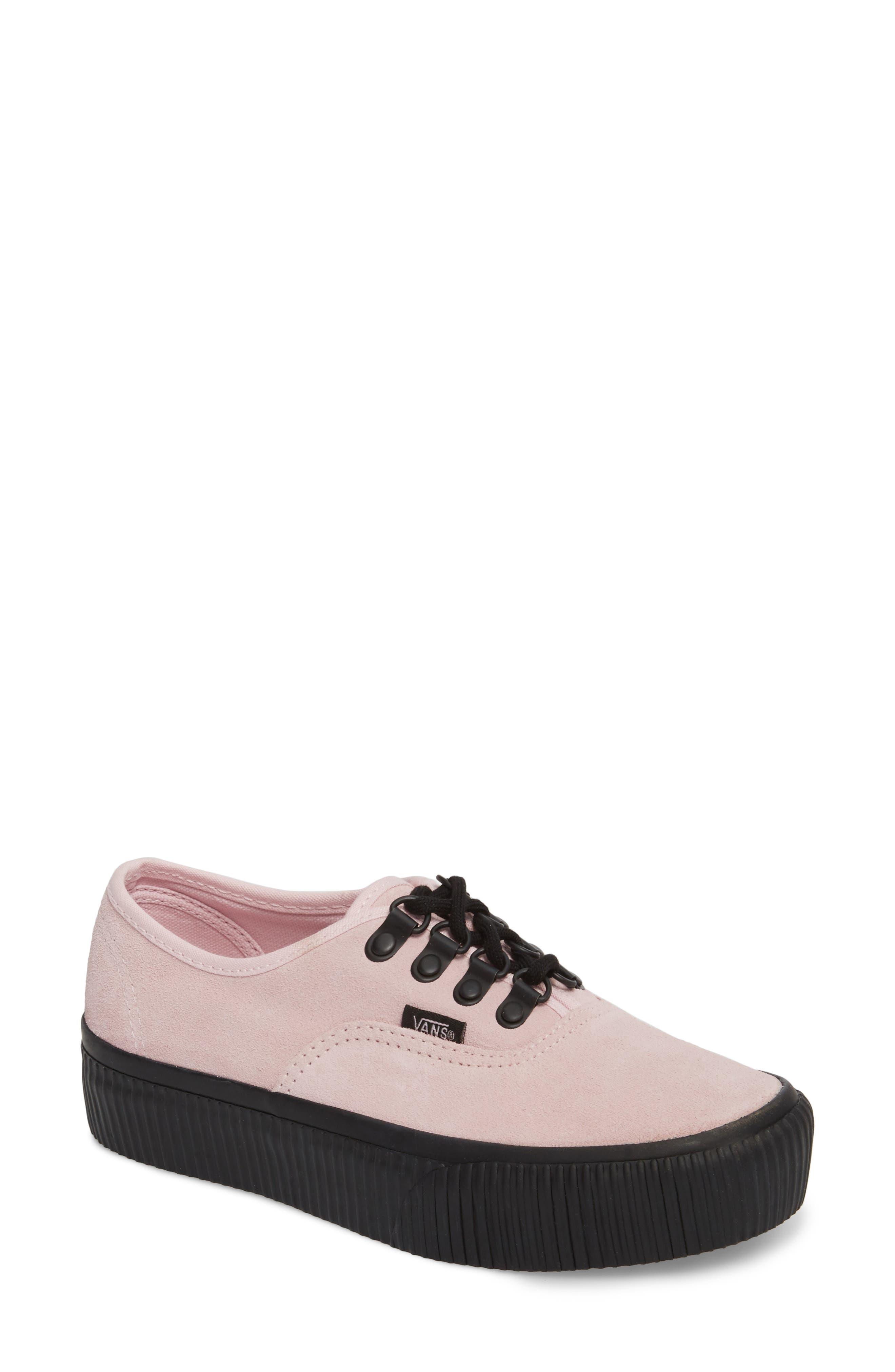 Main Image - Vans 'Authentic' Platform Sneaker (Women)