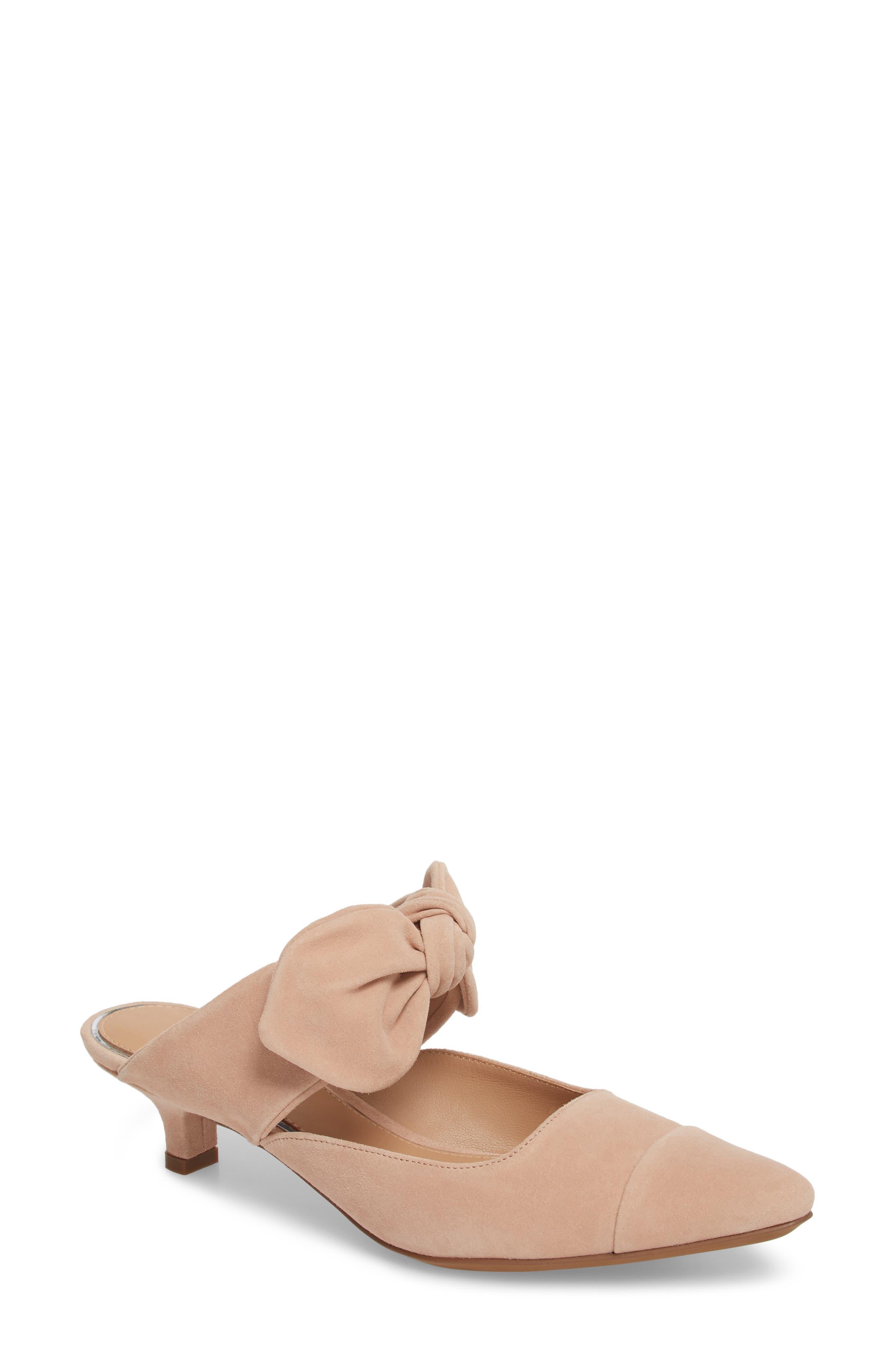 Crissy Pump,                         Main,                         color, Nude Suede