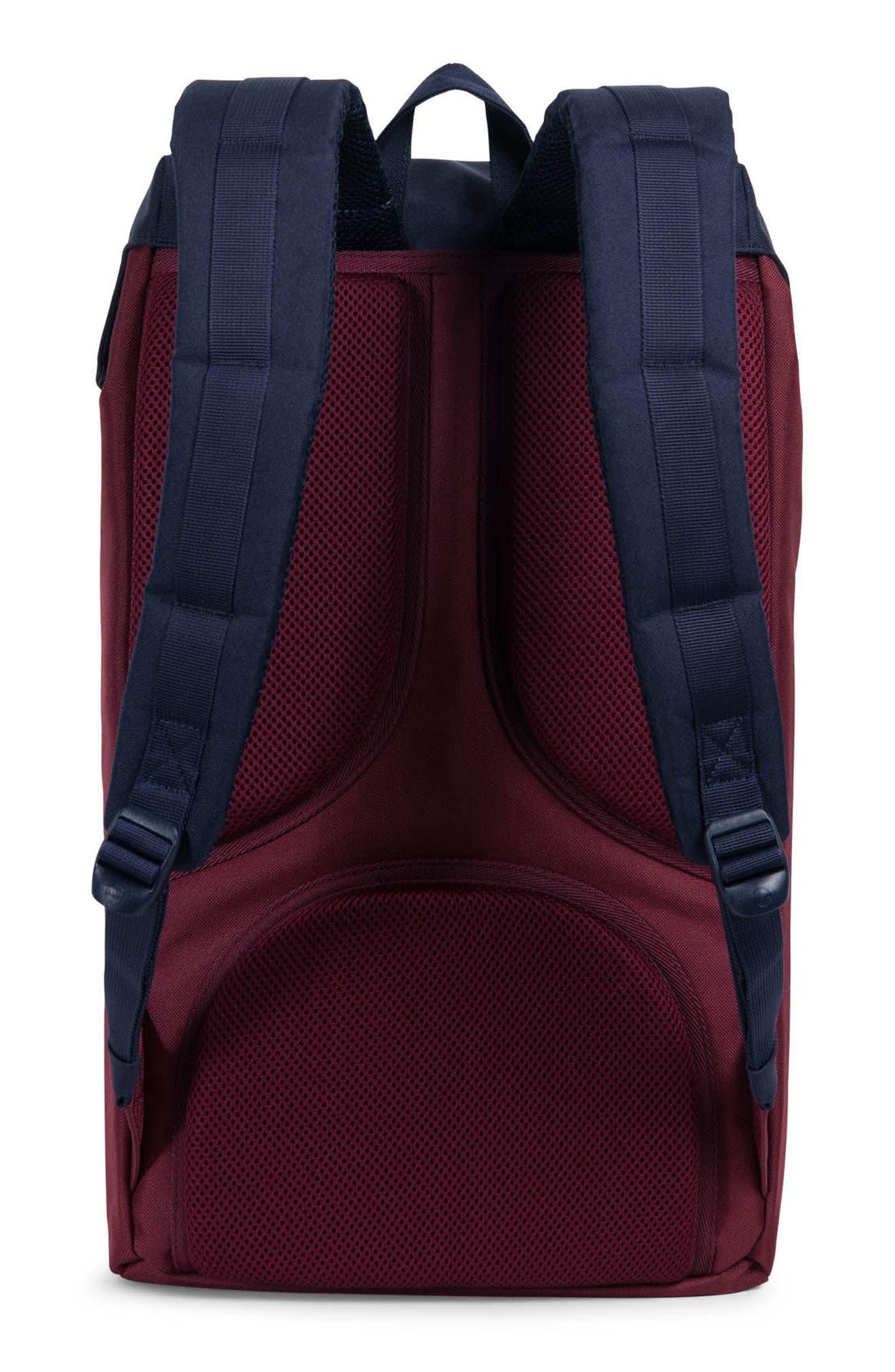 Little America Backpack,                             Alternate thumbnail 2, color,                             Windsor Wine/
