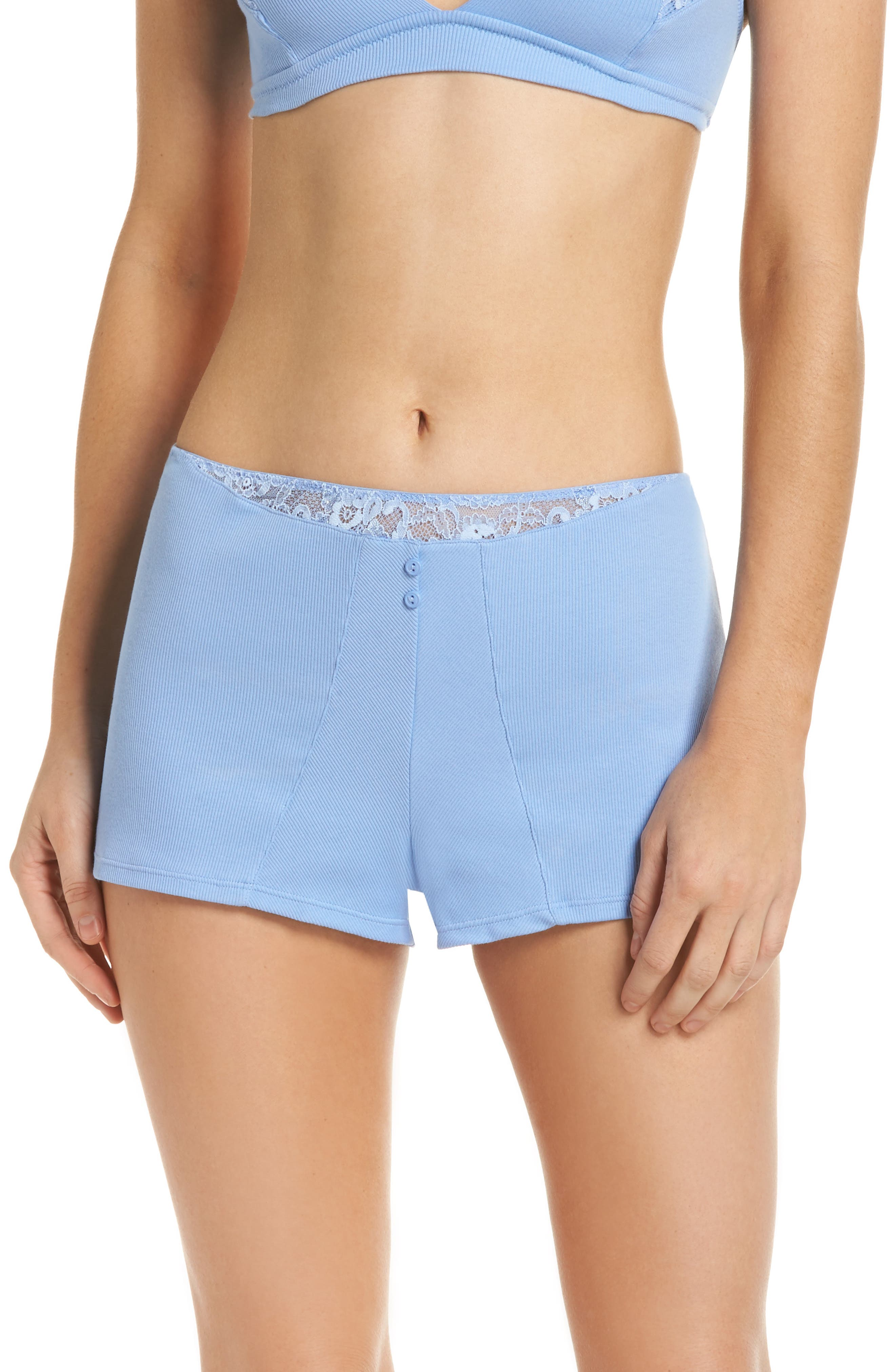 Tap Boyshorts,                         Main,                         color, Periwinkle