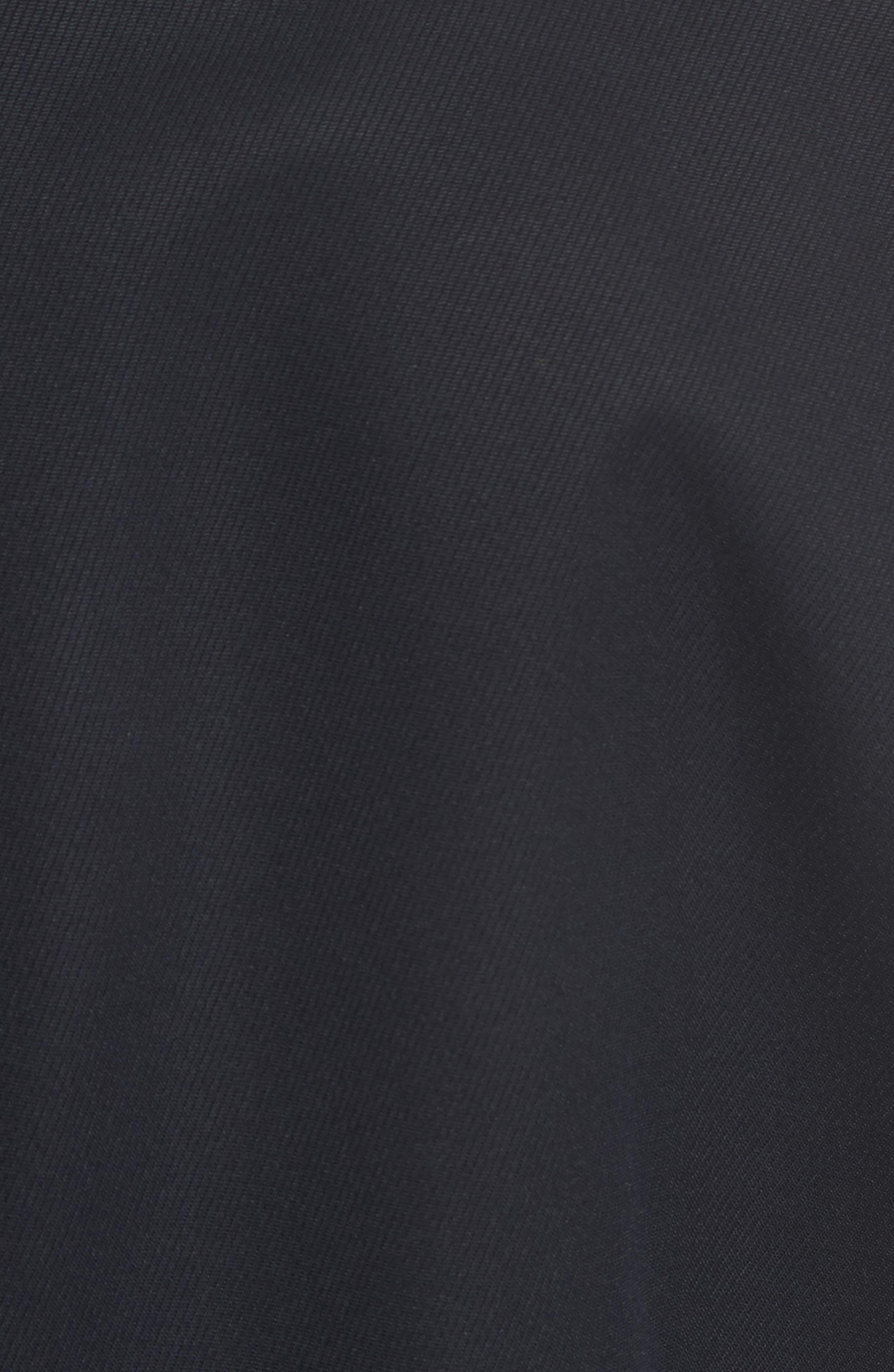 Navy Topcoat,                             Alternate thumbnail 4, color,                             Navy