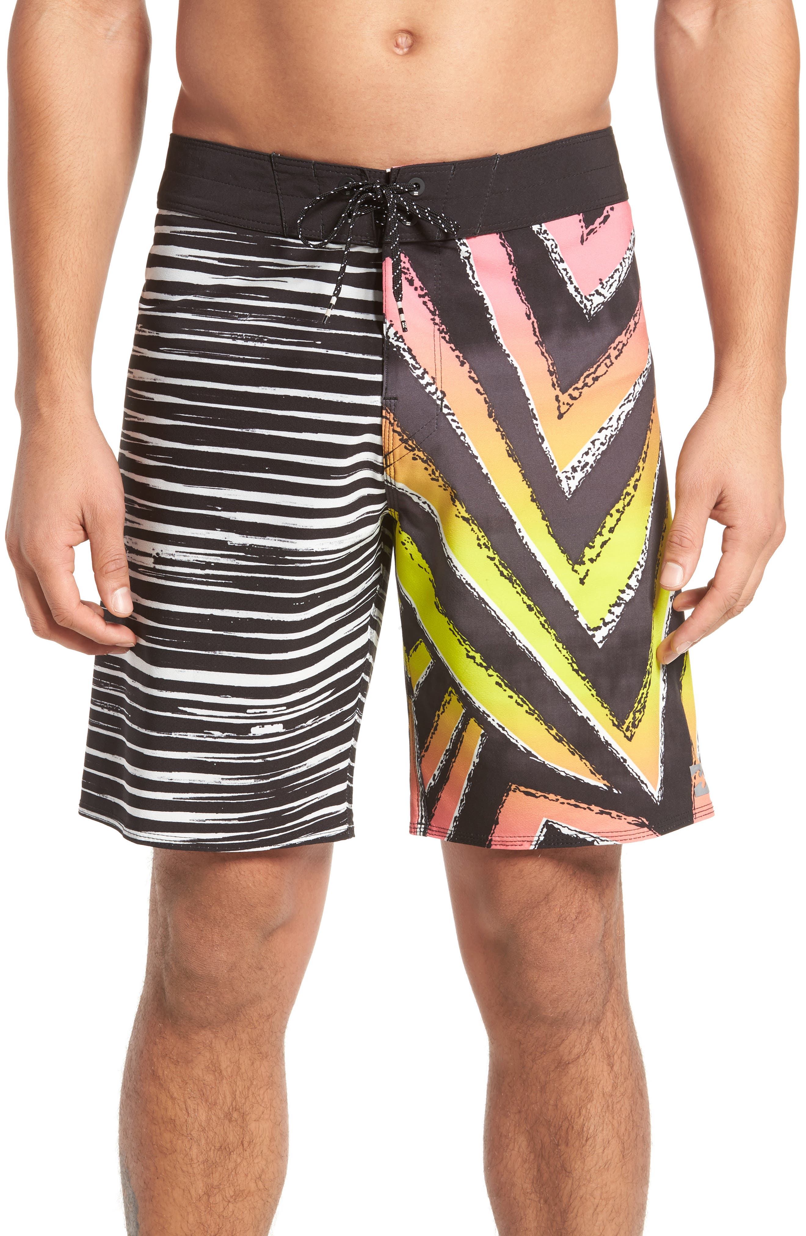 Sundays Airlite Board Shorts,                         Main,                         color, Neon