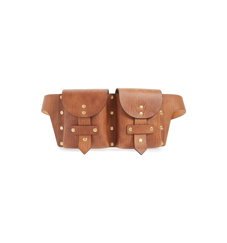 Main Image - Tory Burch Studded Leather Belt Bag