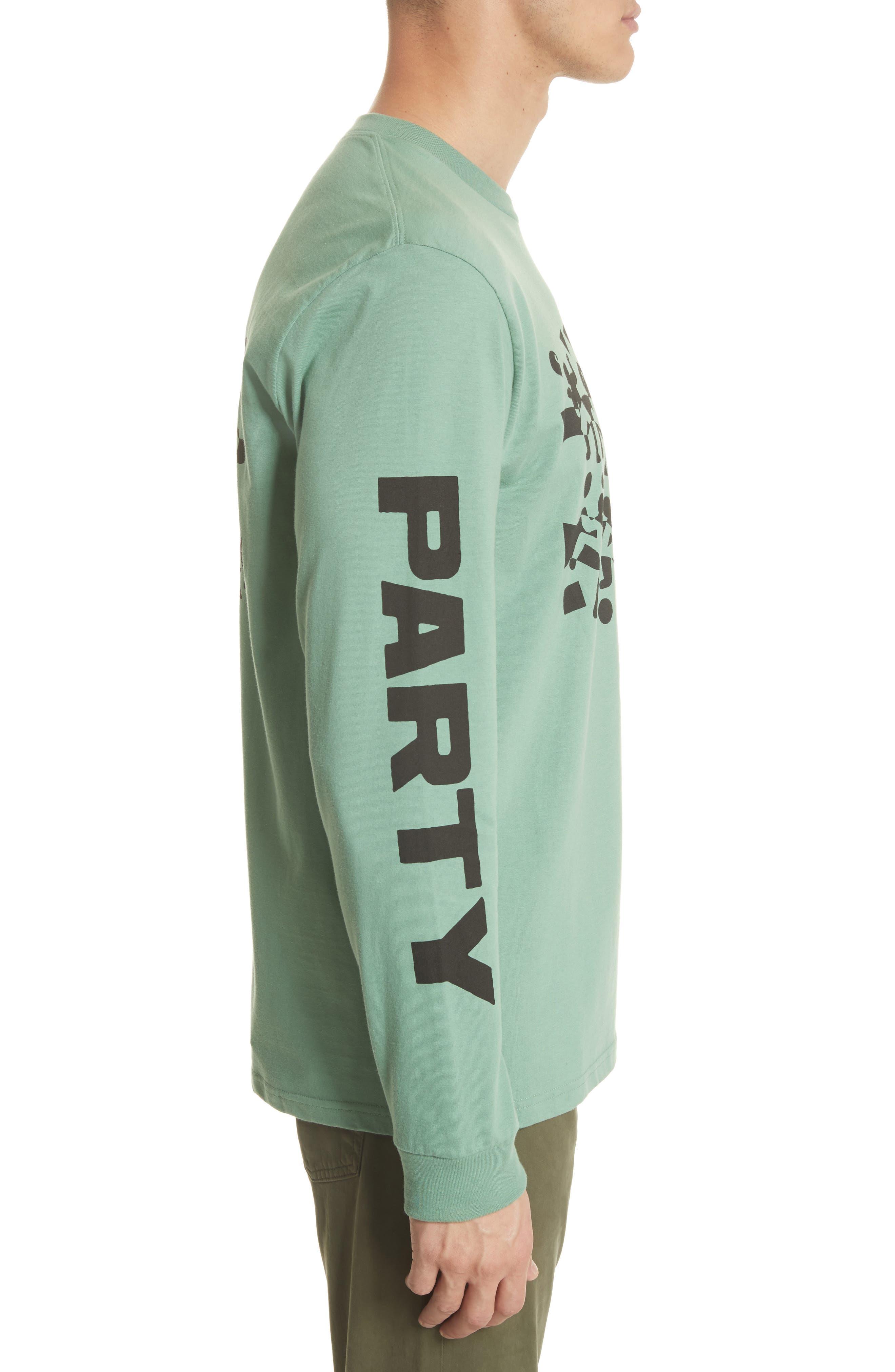 World Party T-Shirt,                             Alternate thumbnail 3, color,                             Catnip/Black
