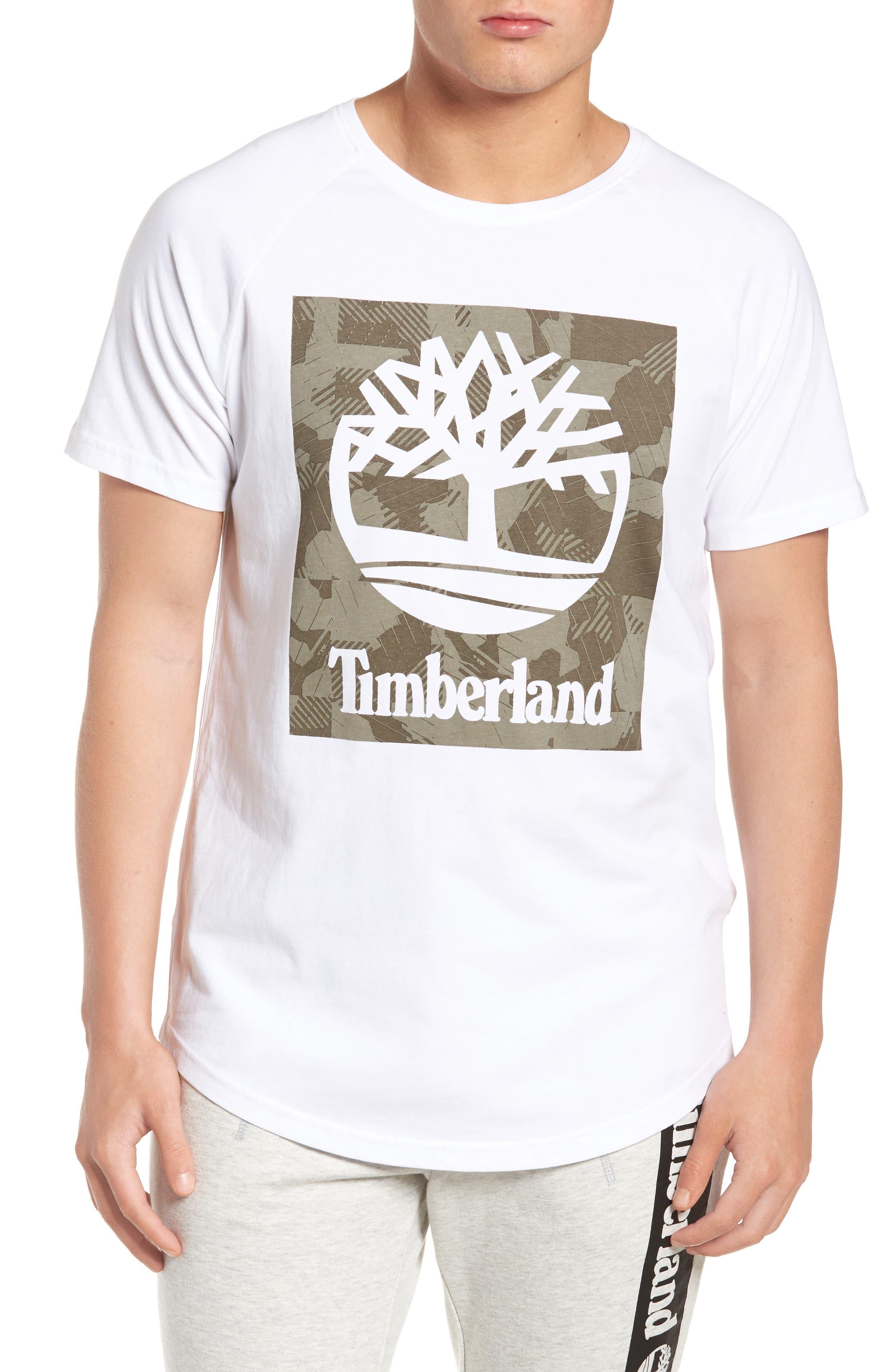 Camo Logo T-Shirt,                         Main,                         color, White