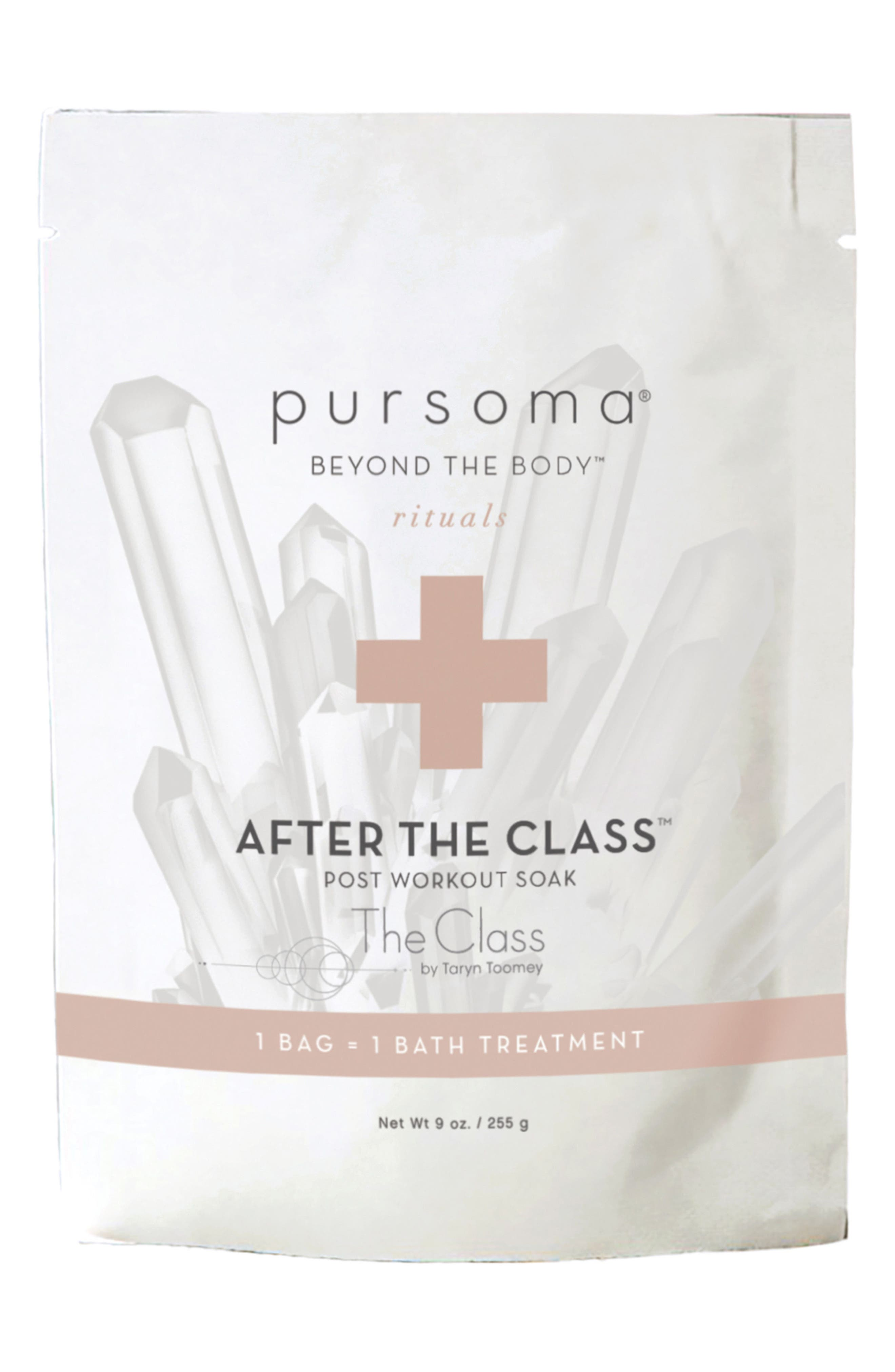 PURSOMA AFTER THE CLASS POST WORKOUT SOAK