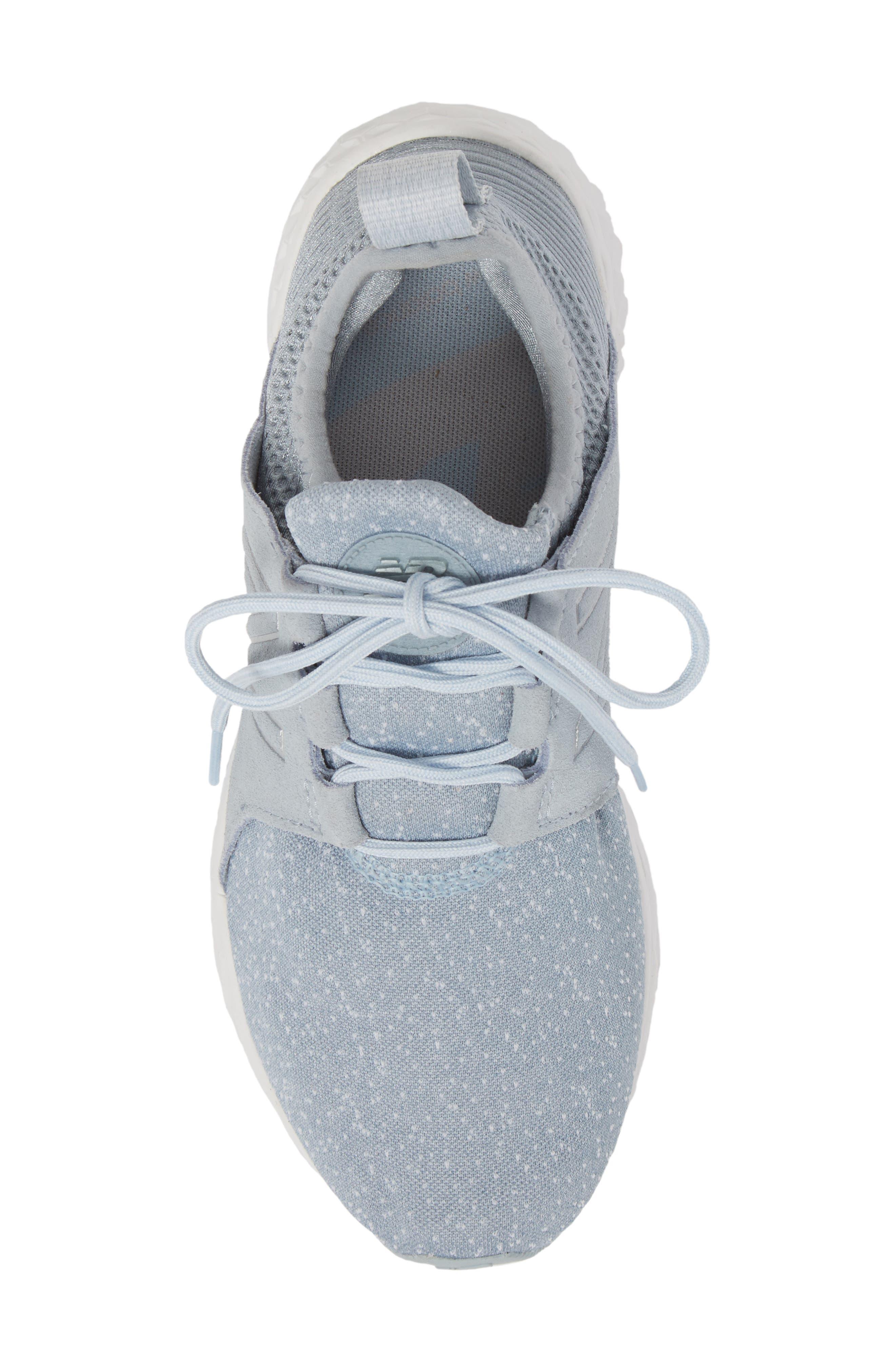 Fresh Foam Cruz Running Shoe,                             Alternate thumbnail 5, color,                             Light Slate