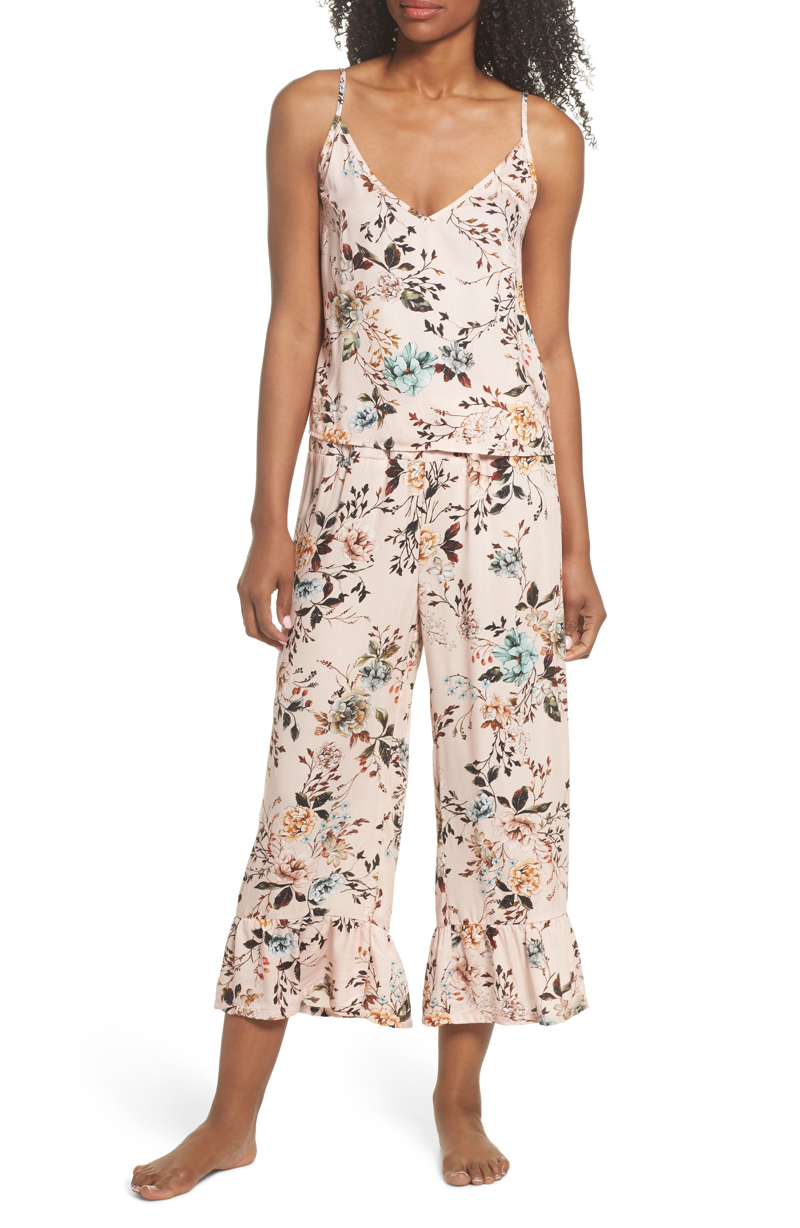 Amelia Pajamas,                         Main,                         color, Pink Dusk