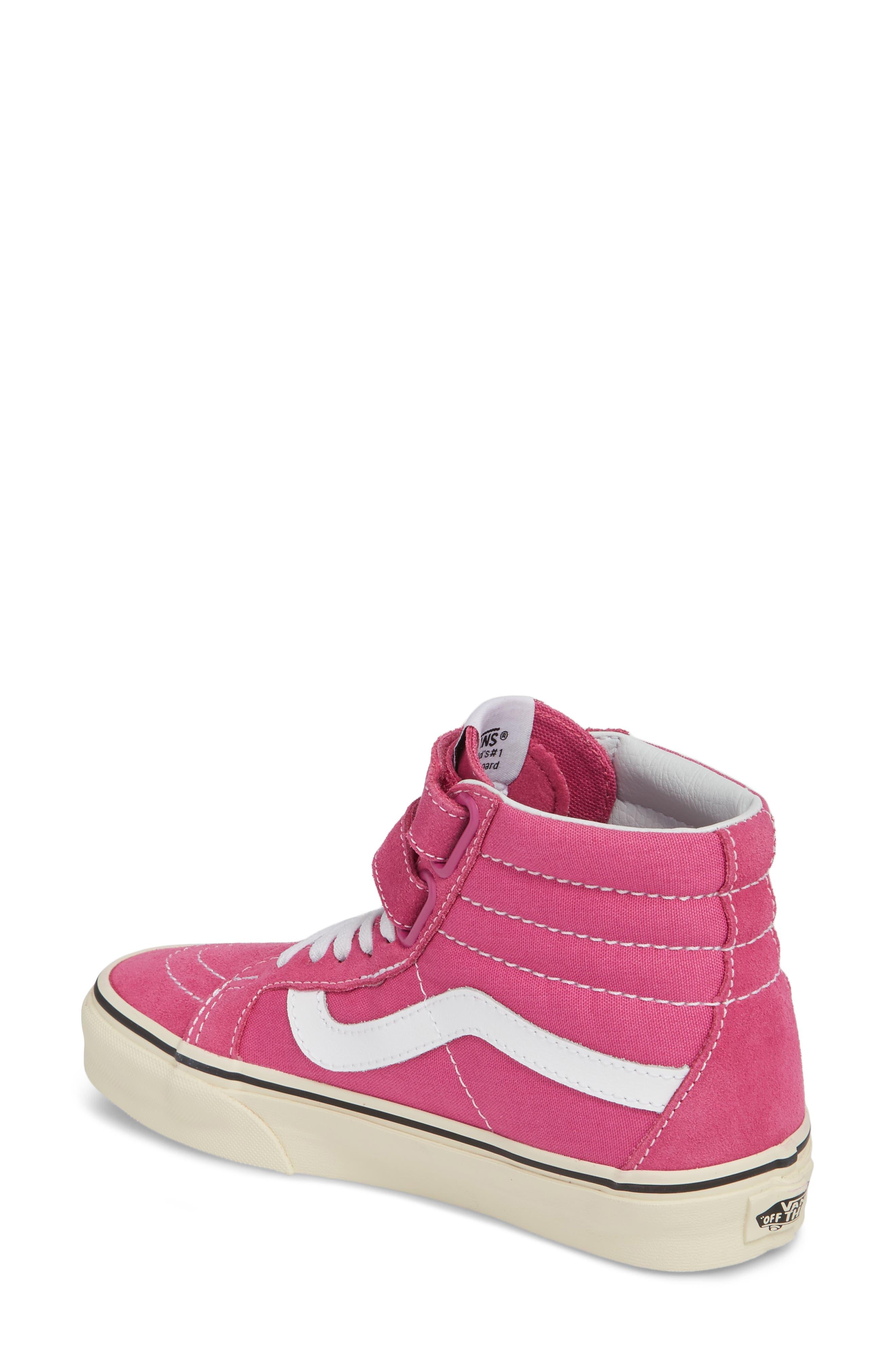 Sk8-Hi Reissue Sneaker,                             Alternate thumbnail 2, color,                             Raspberry Rose/ Turtledove